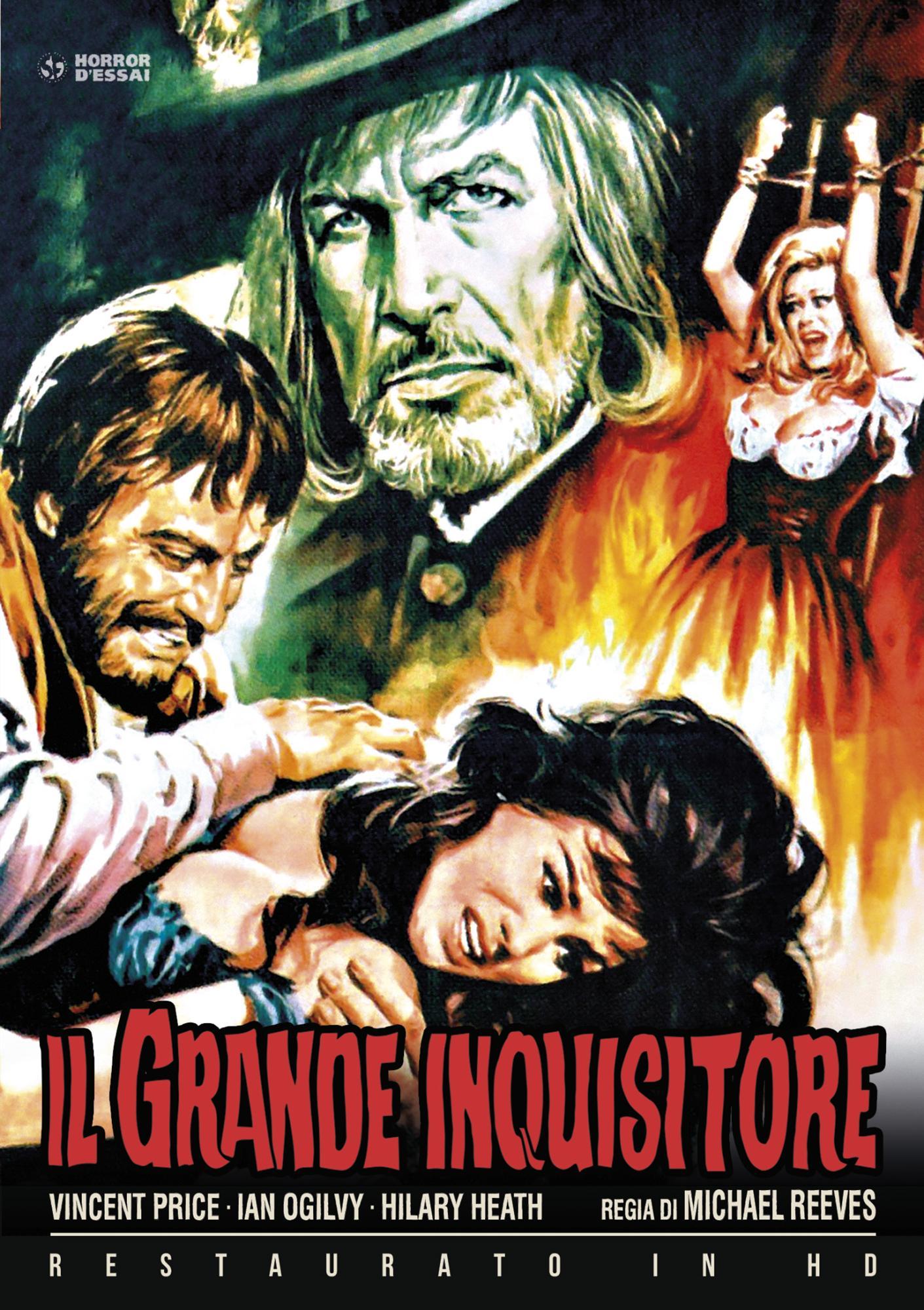 IL GRANDE INQUISITORE (RESTAURATO IN HD) (DVD)