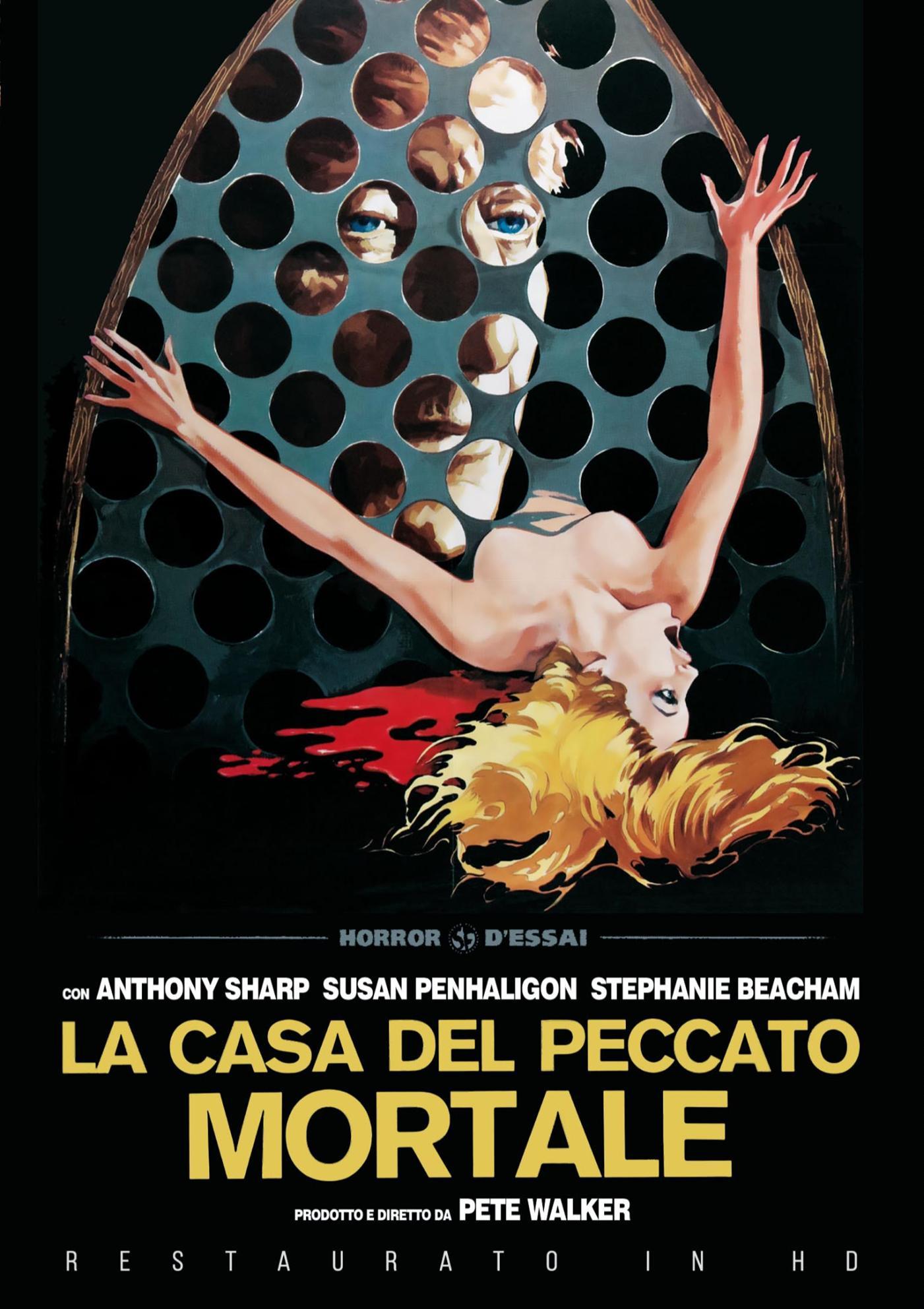 LA CASA DEL PECCATO MORTALE (RESTAURATO IN HD) (DVD)