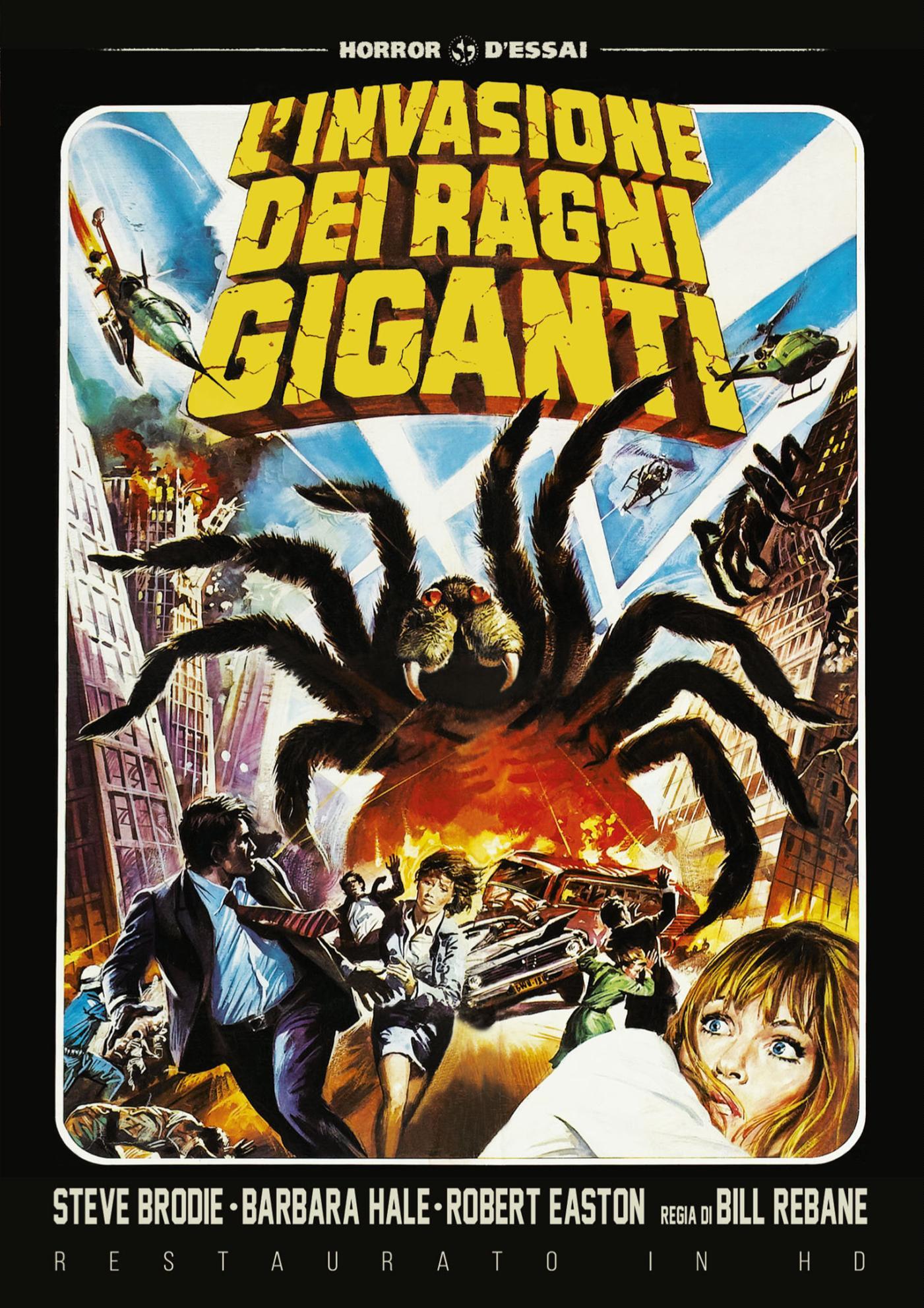 L'INVASIONE DEI RAGNI GIGANTI (RESTAURATO IN HD) (DVD)
