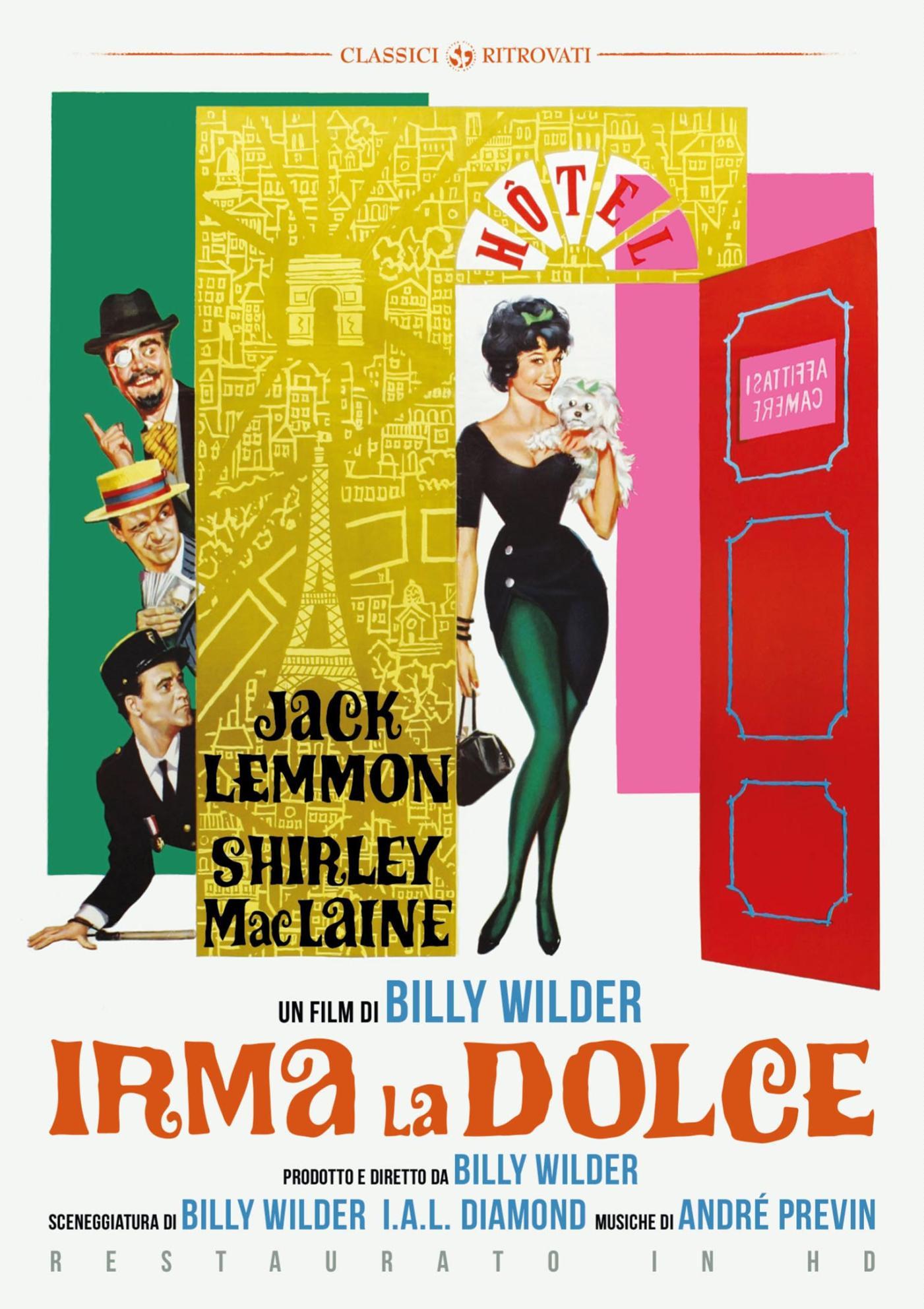 IRMA LA DOLCE (RESTAURATO IN HD) (DVD)