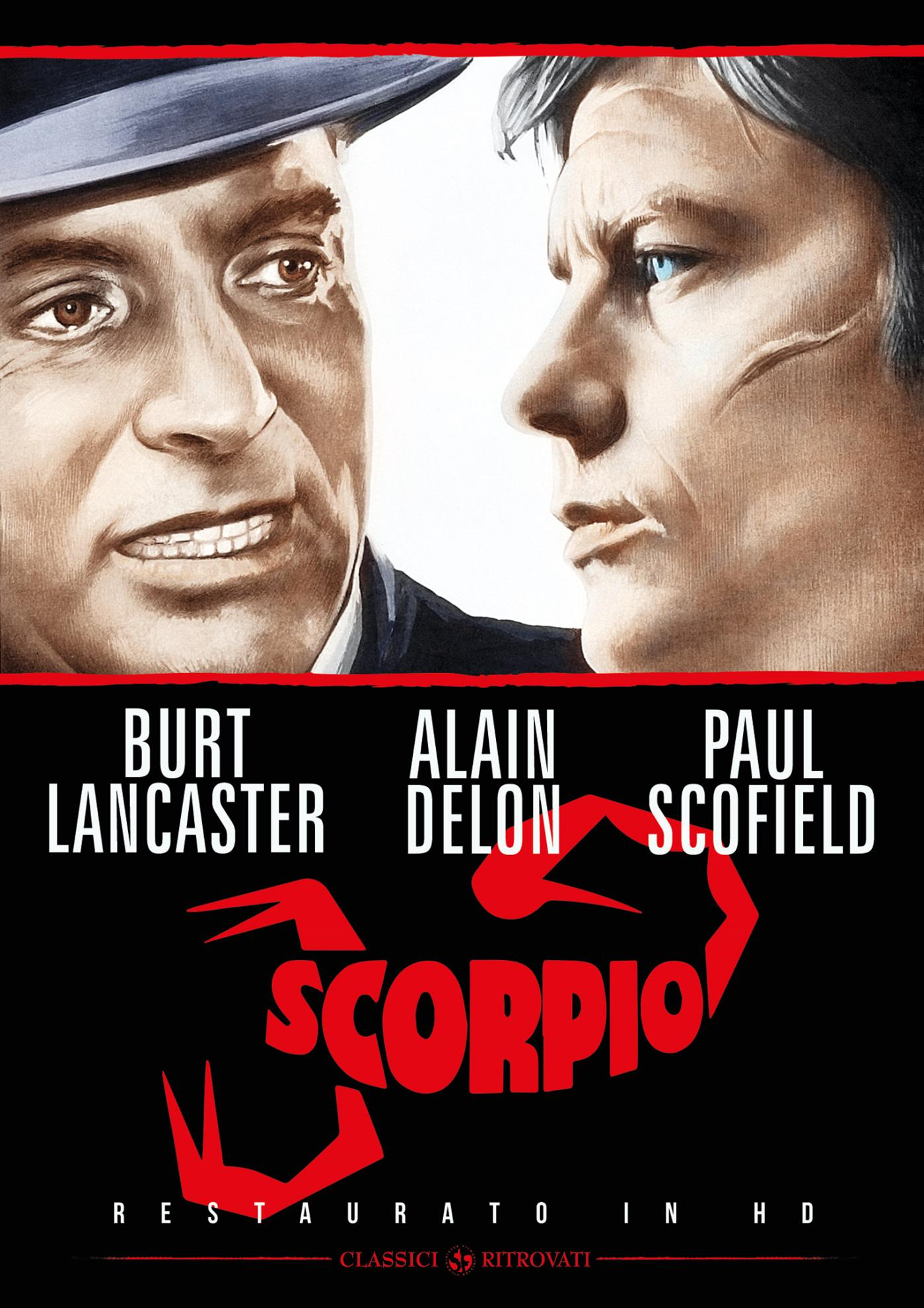 SCORPIO (RESTAURATO IN HD) (DVD)