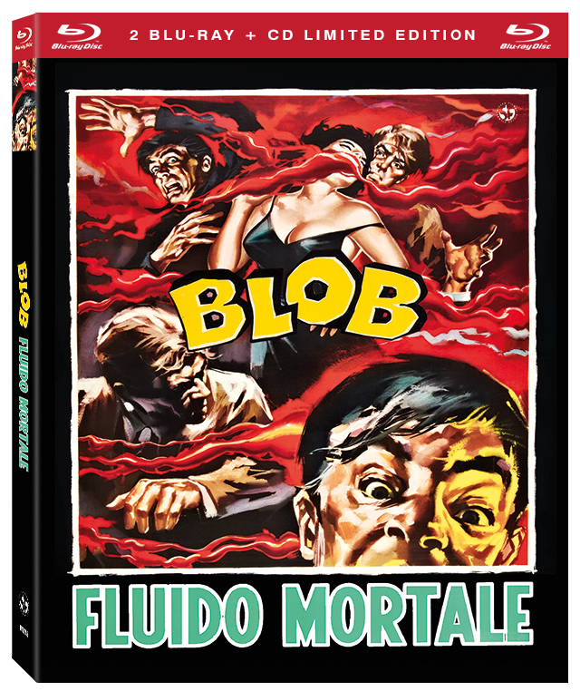 BLOB FLUIDO MORTALE (2 BLU-RAY+CD) (EDIZIONE LIMITATA NUMERATA 1