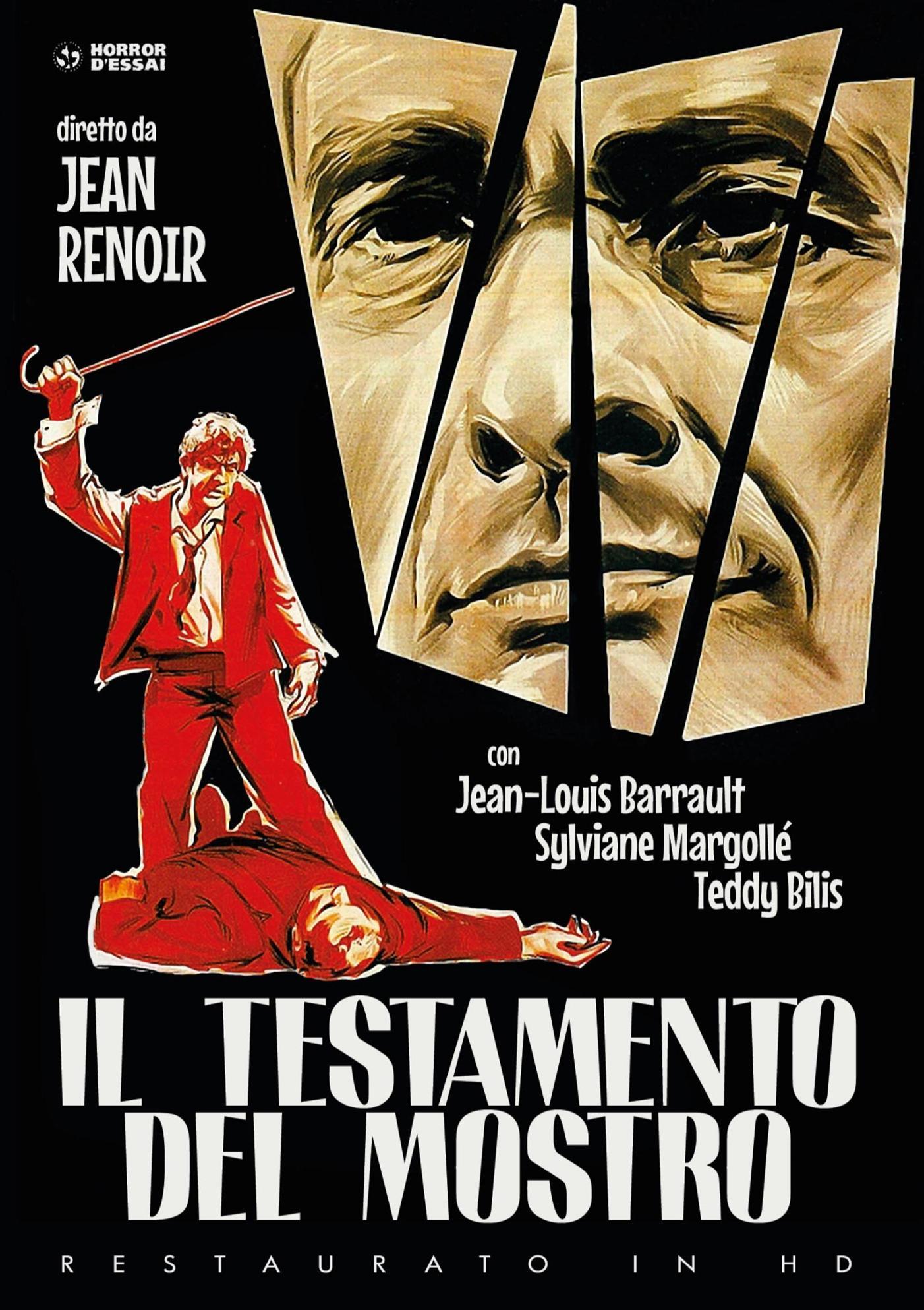 IL TESTAMENTO DEL MOSTRO (RESTAURATO IN HD) (DVD)