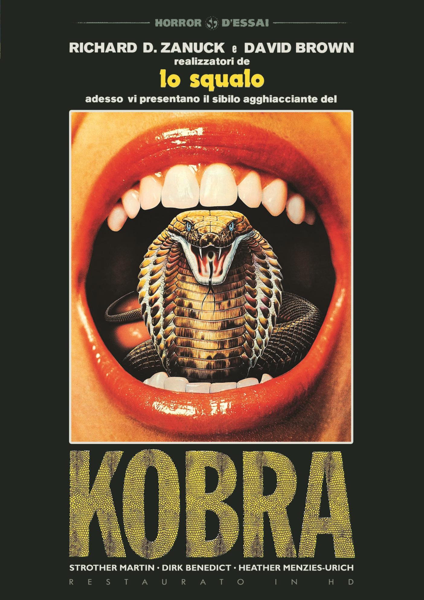 KOBRA (RESTAURATO IN HD) (DVD)