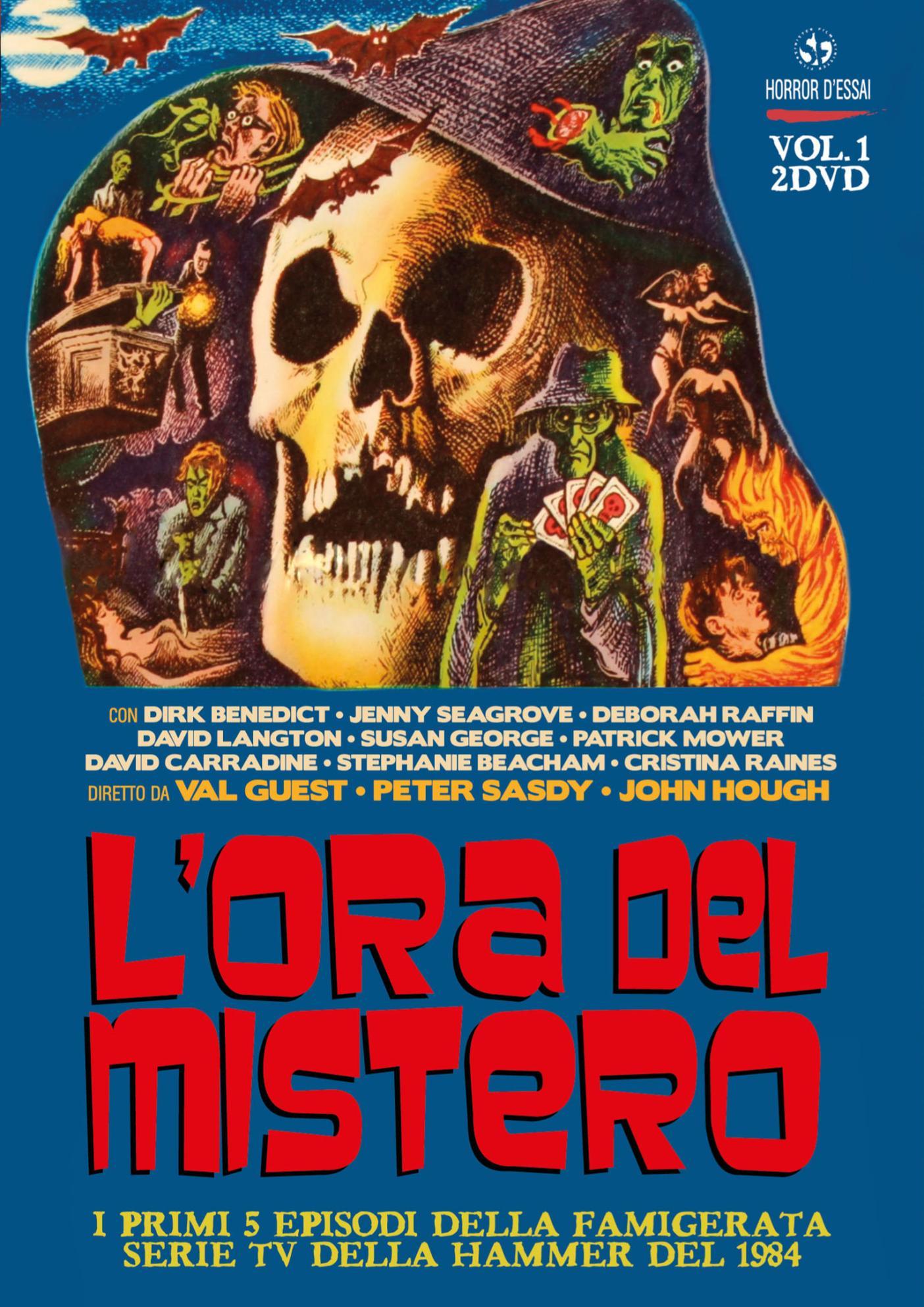 COF.L'ORA DEL MISTERO #01 (2 DVD+BOX) (DVD)