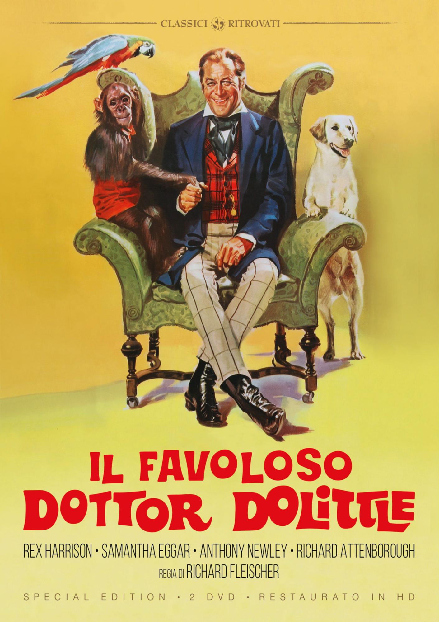 IL FAVOLOSO DR. DOLITTLE (RESTAURATO IN HD) (SPECIAL EDITION) (2