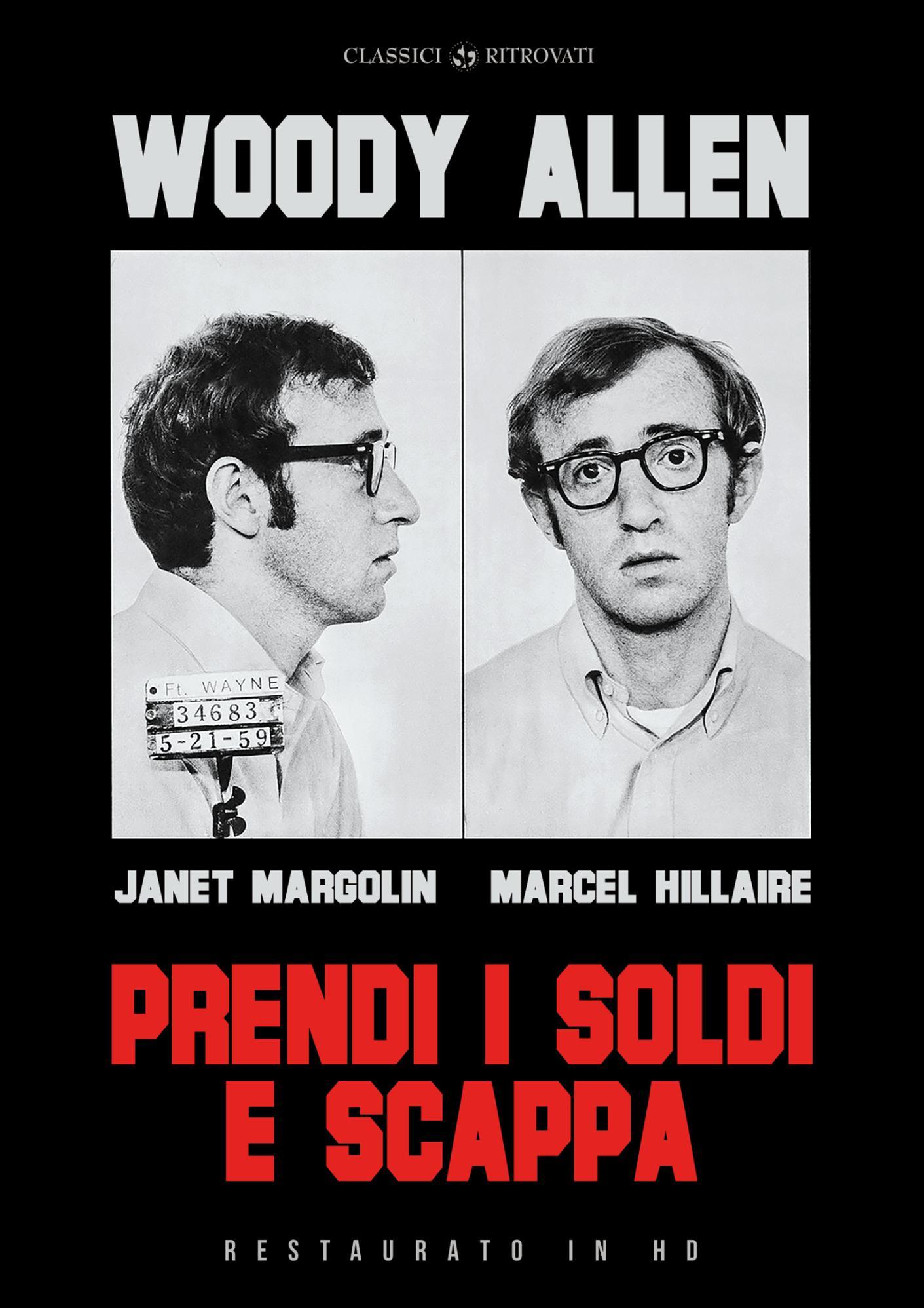 PRENDI I SOLDI E SCAPPA (RESTAURATO IN HD) (DVD)