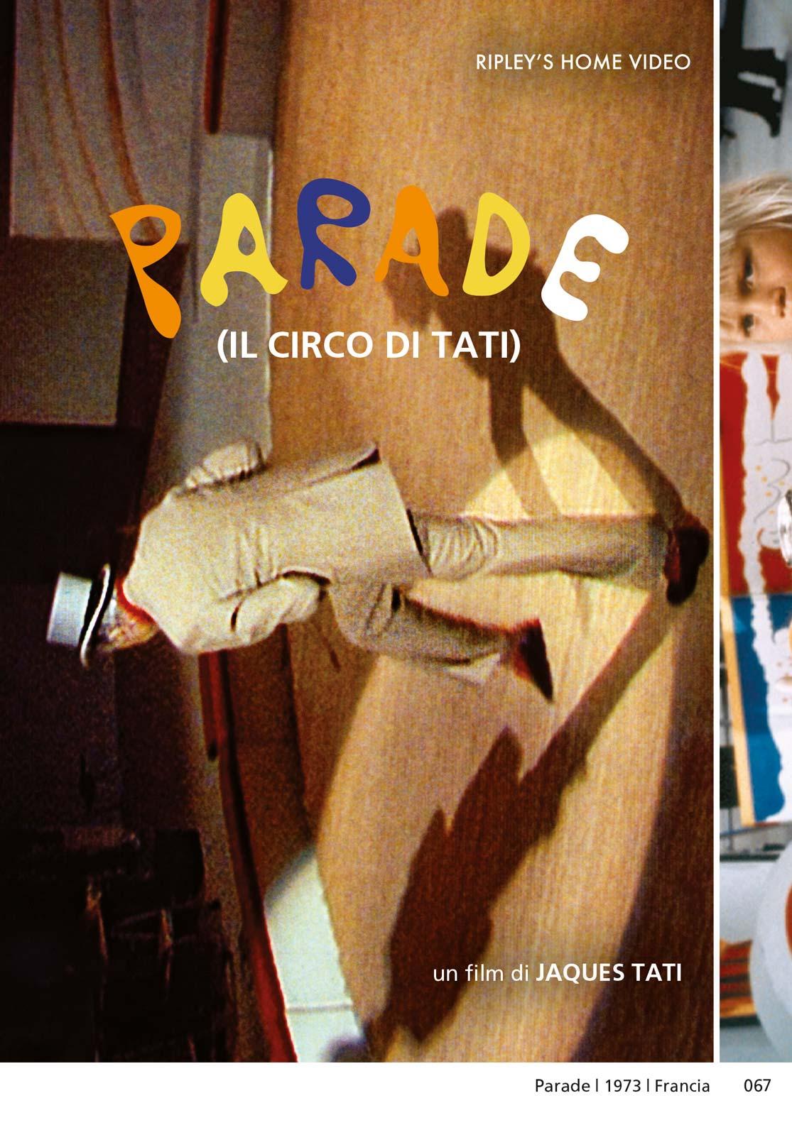 PARADE - IL CIRCO DI TATI (DVD)