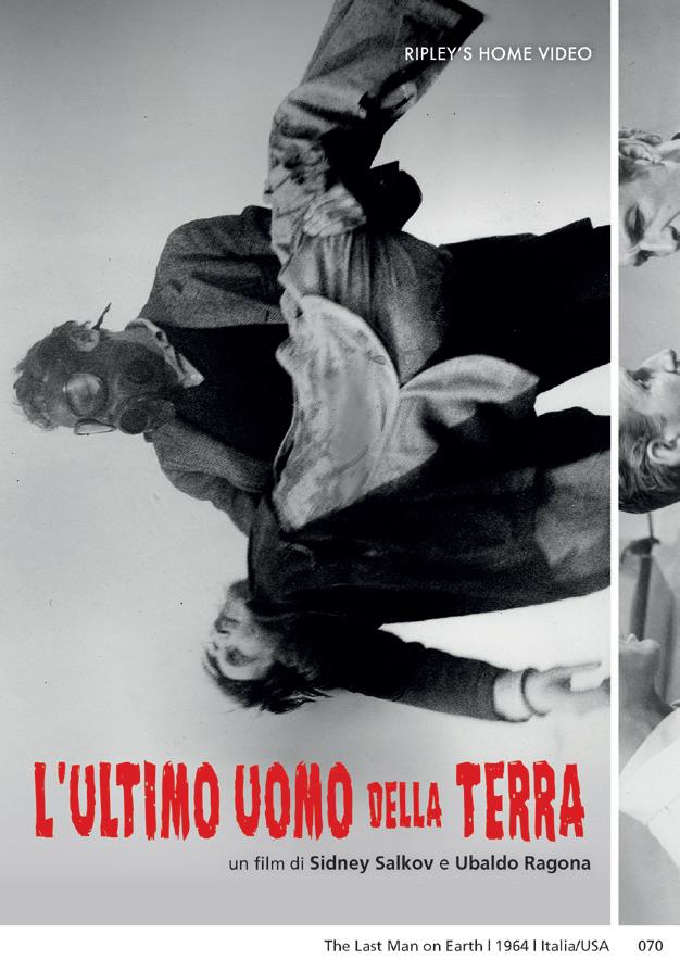 L'ULTIMO UOMO DELLA TERRA (DVD)