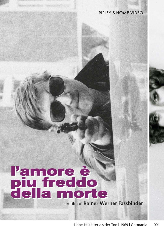 L'AMORE E' PIU' FREDDO DELLA MORTE (DVD)
