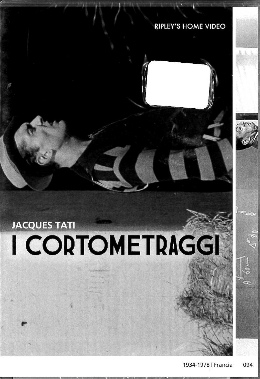JACQUES TATI - I CORTOMETRAGGI (DVD)