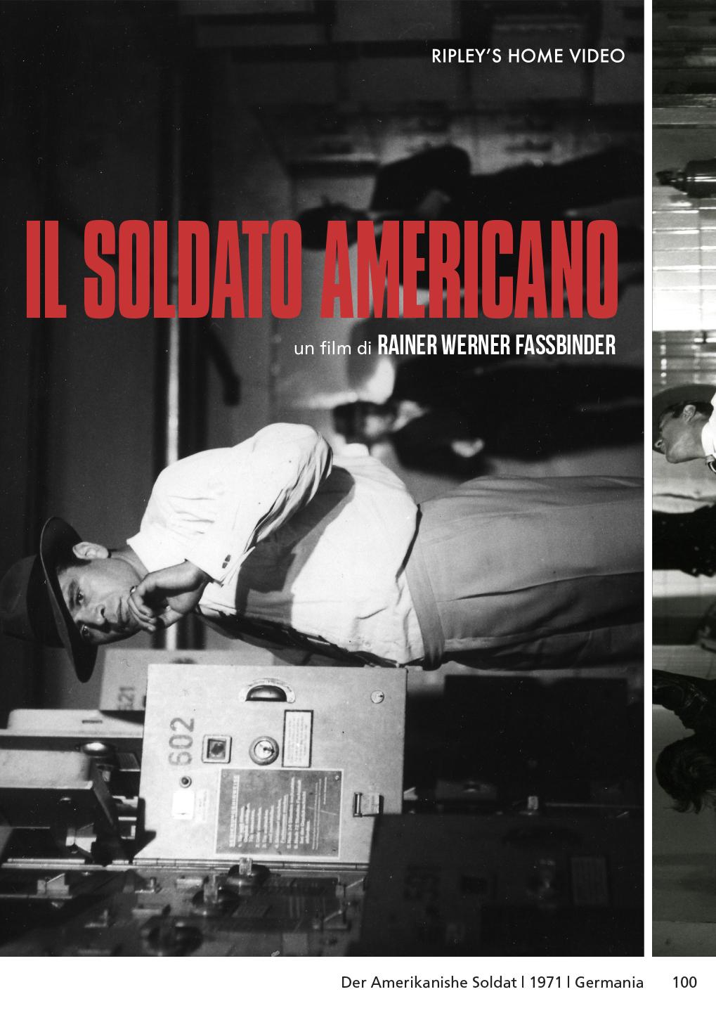 IL SOLDATO AMERICANO (DVD)