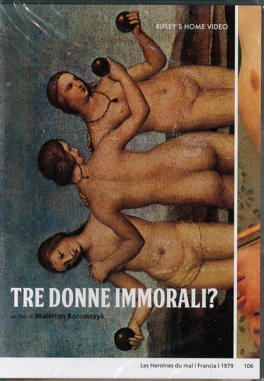 TRE DONNE IMMORALI? (DVD)