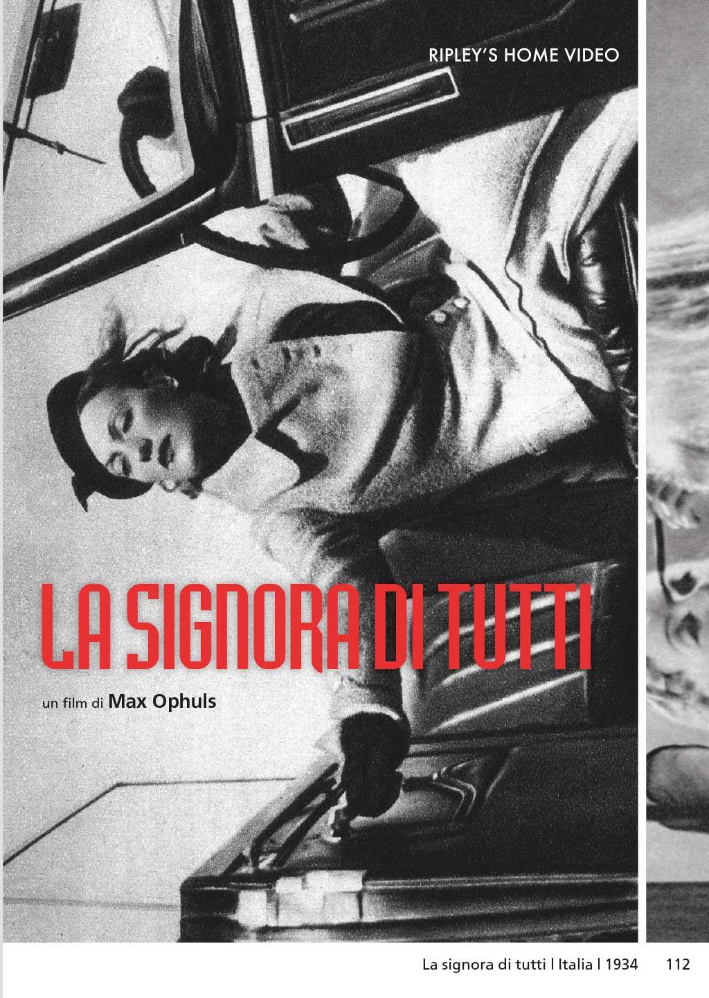 LA SIGNORA DI TUTTI (DVD)
