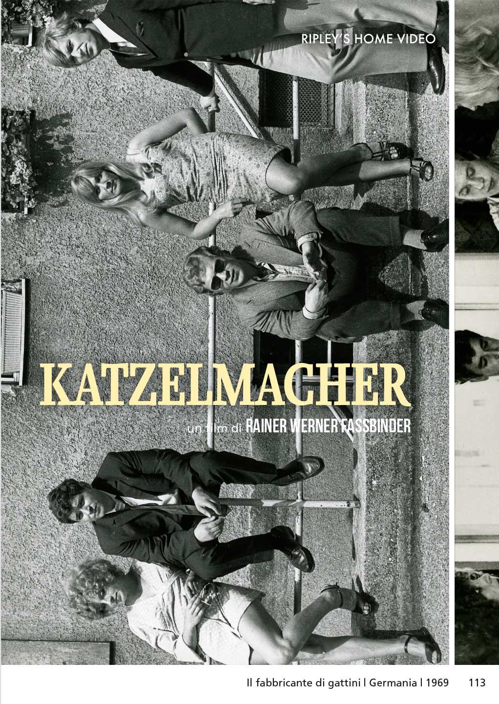 KATZELMACHER - IL FABBRICANTE DI GATTINI (DVD)