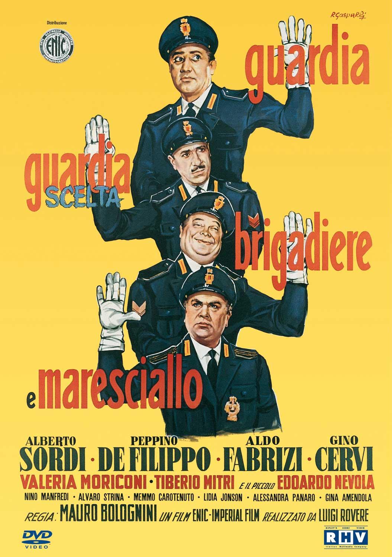 SORDI - GUARDIA GUARDIA SCELTA BRIGADIERE E MARESCIALLO (DVD)