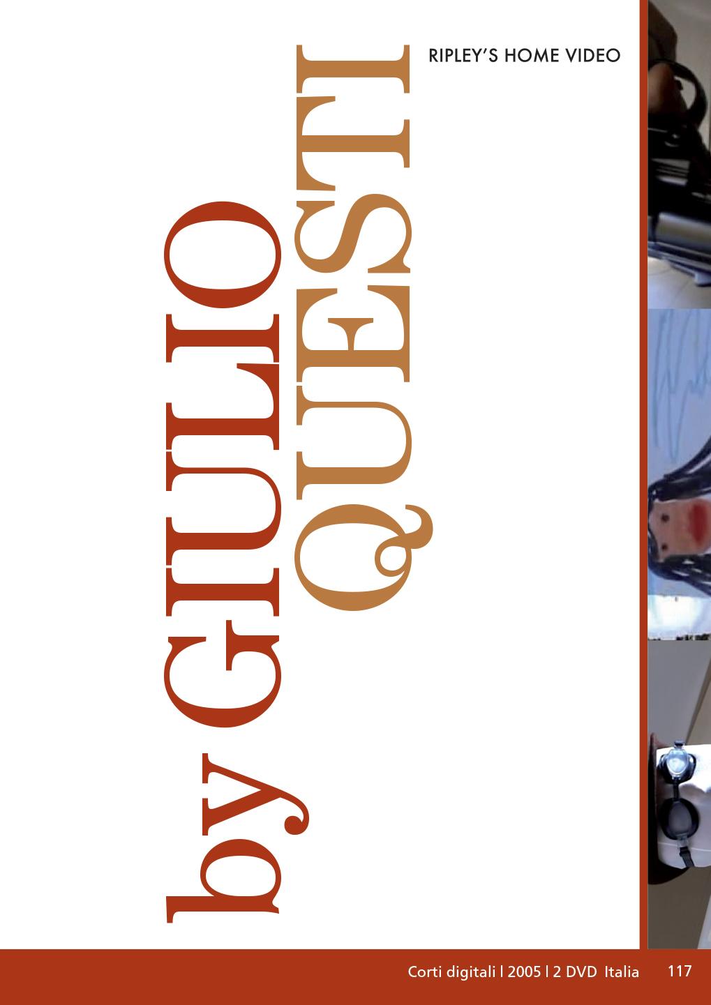 GIULIO QUESTI - BY GIULIO QUESTI (2 DVD) (DVD)