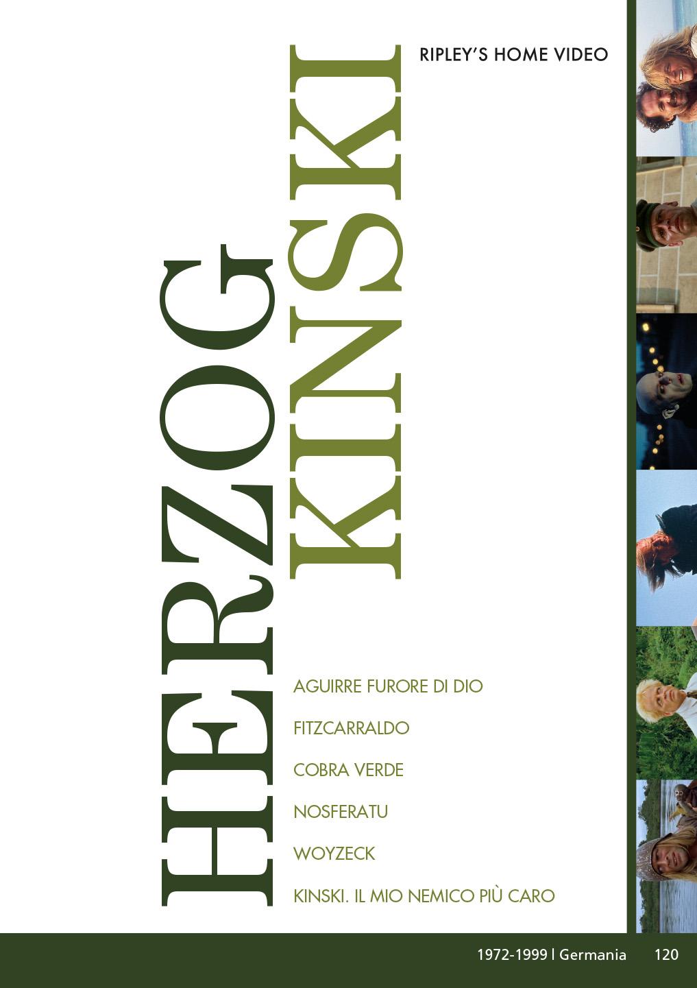 COF.HERZOG / KINSKI COFANETTO (6 DVD) (DVD)