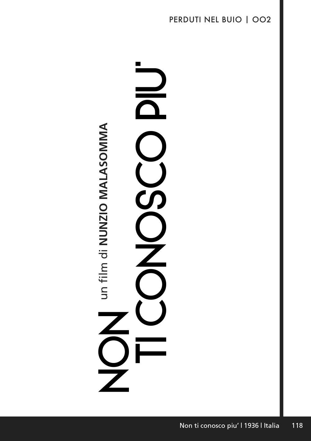 NON TI CONOSCO PIU' (DVD)