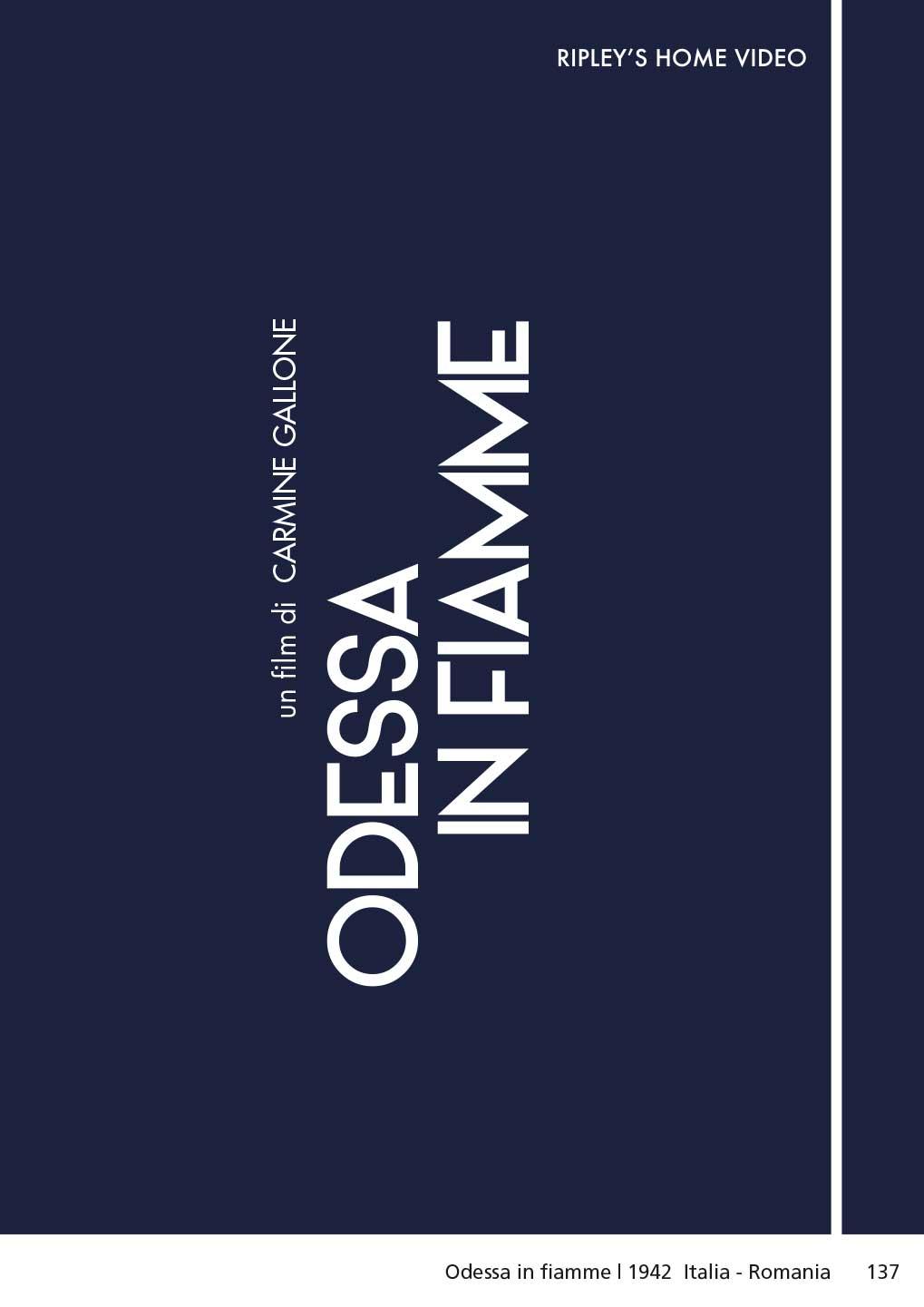 ODESSA IN FIAMME (DVD)