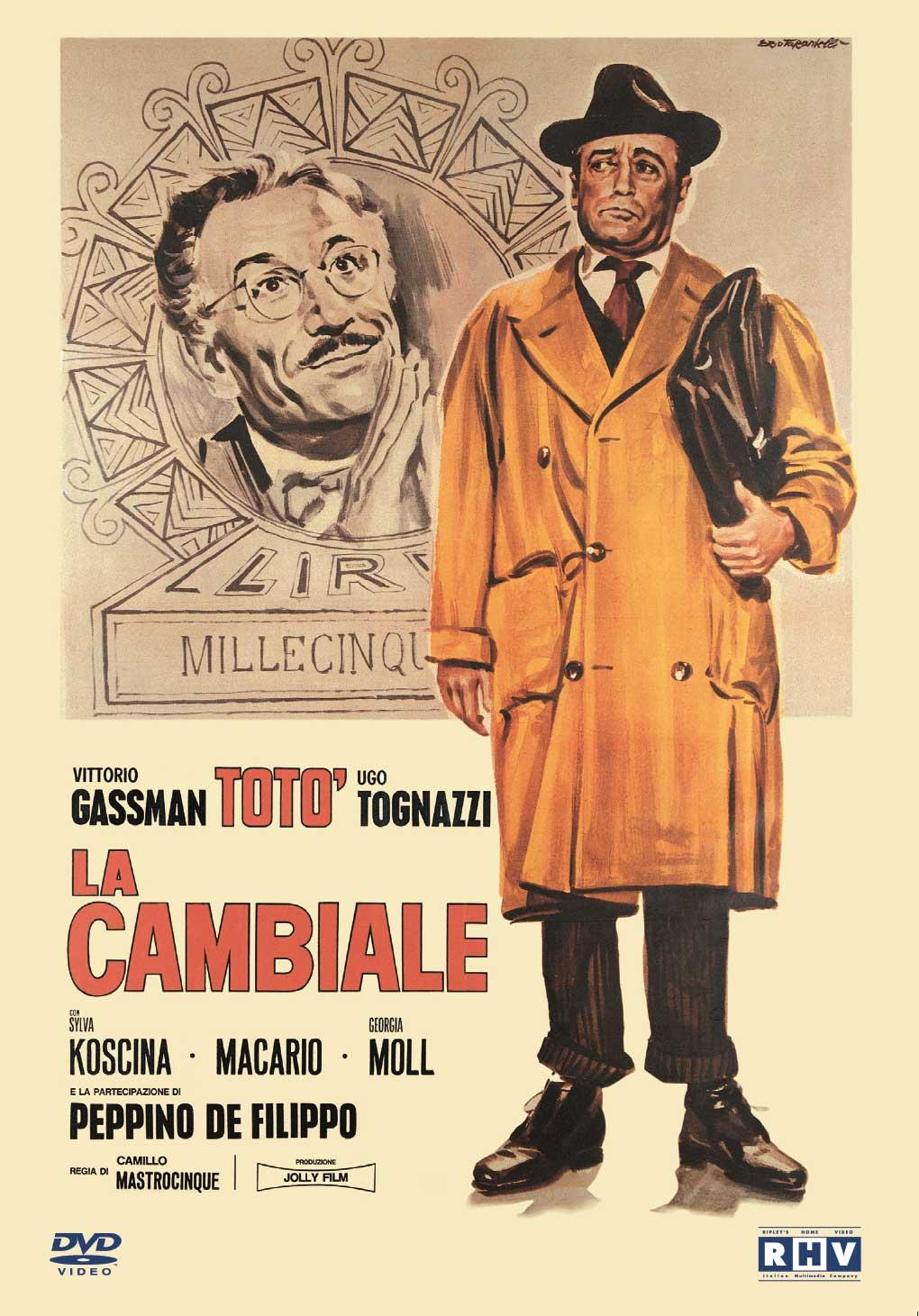 TOTO' LA CAMBIALE (DVD)
