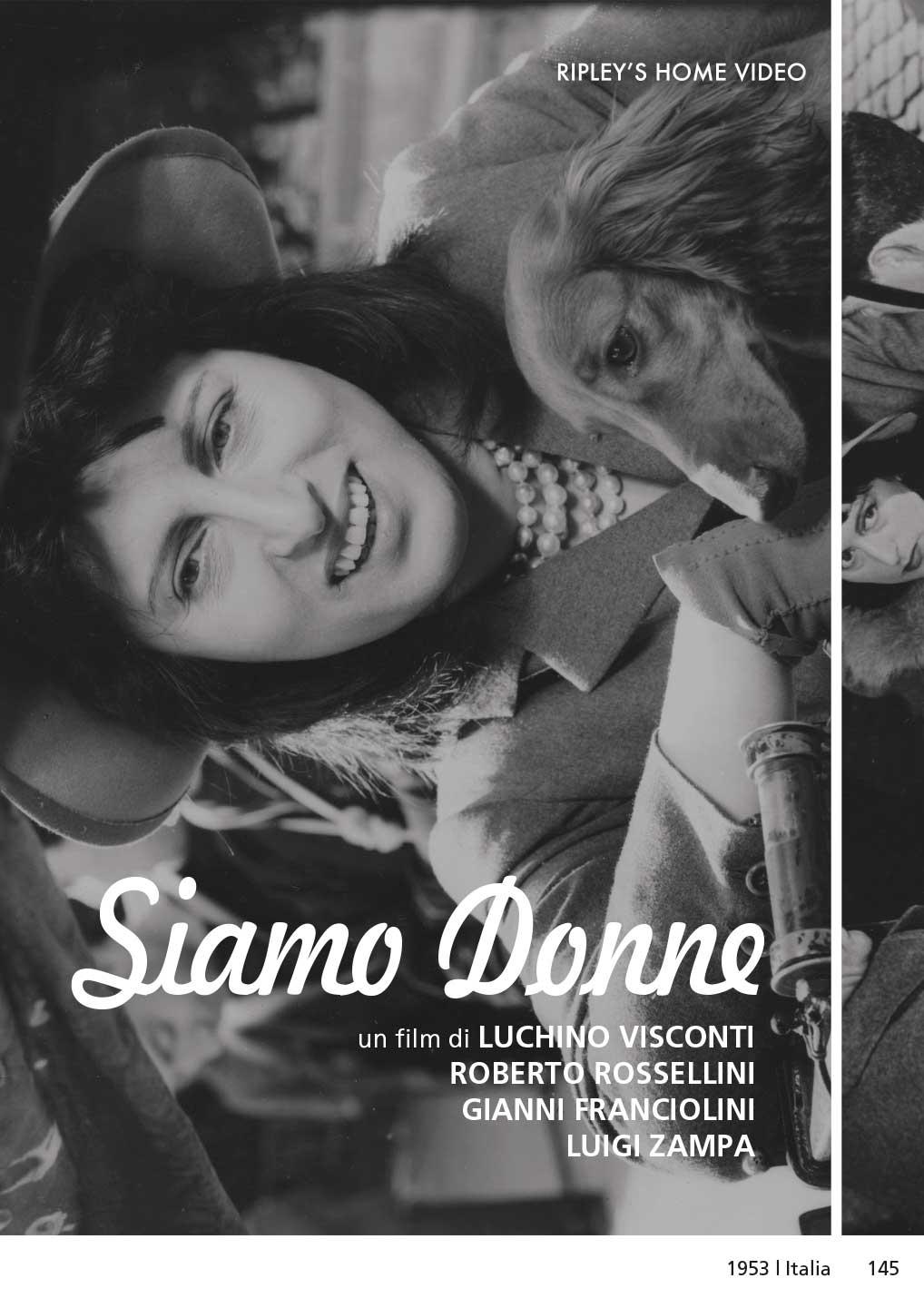 SIAMO DONNE (DVD)