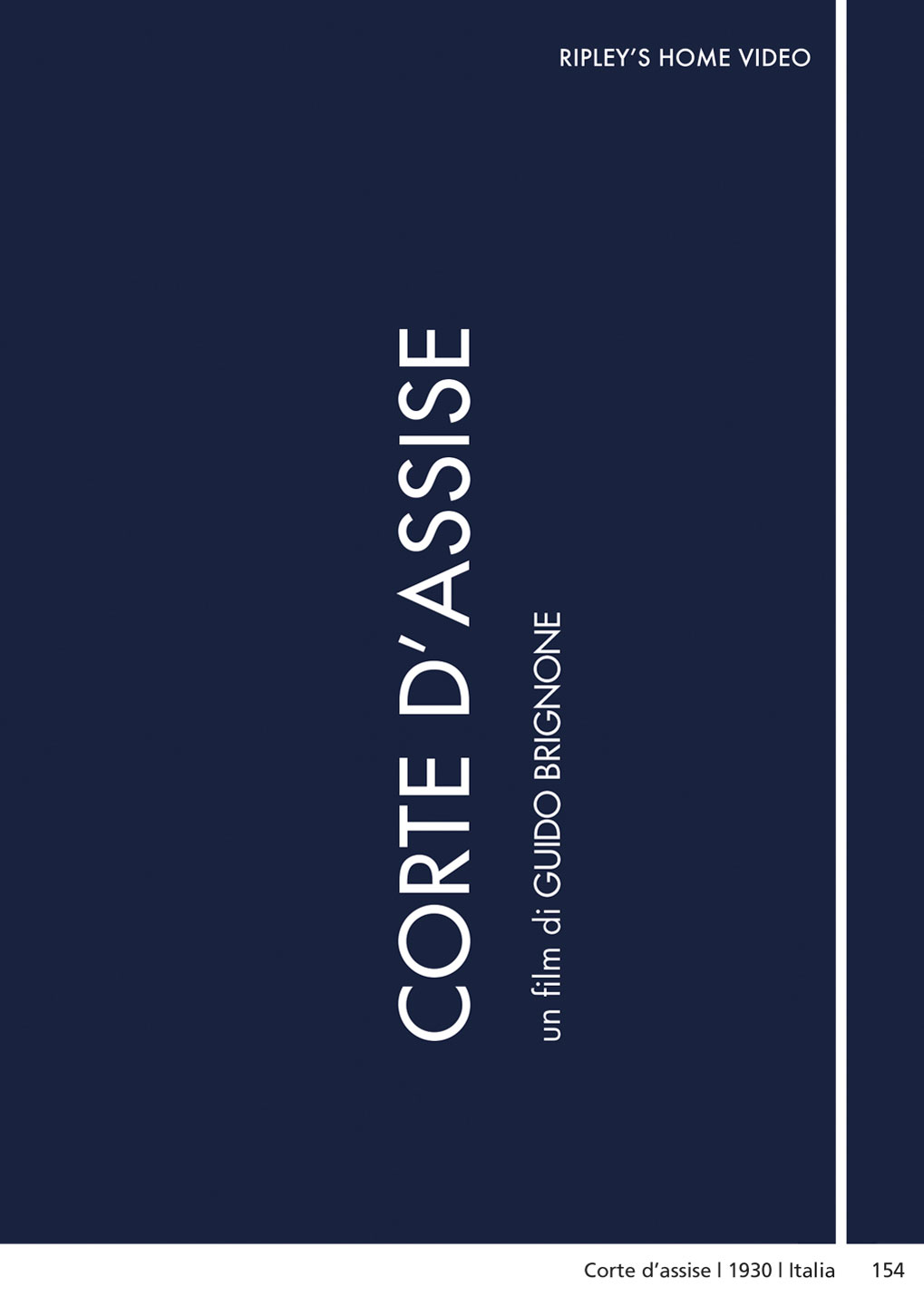 CORTE D'ASSISE (DVD)