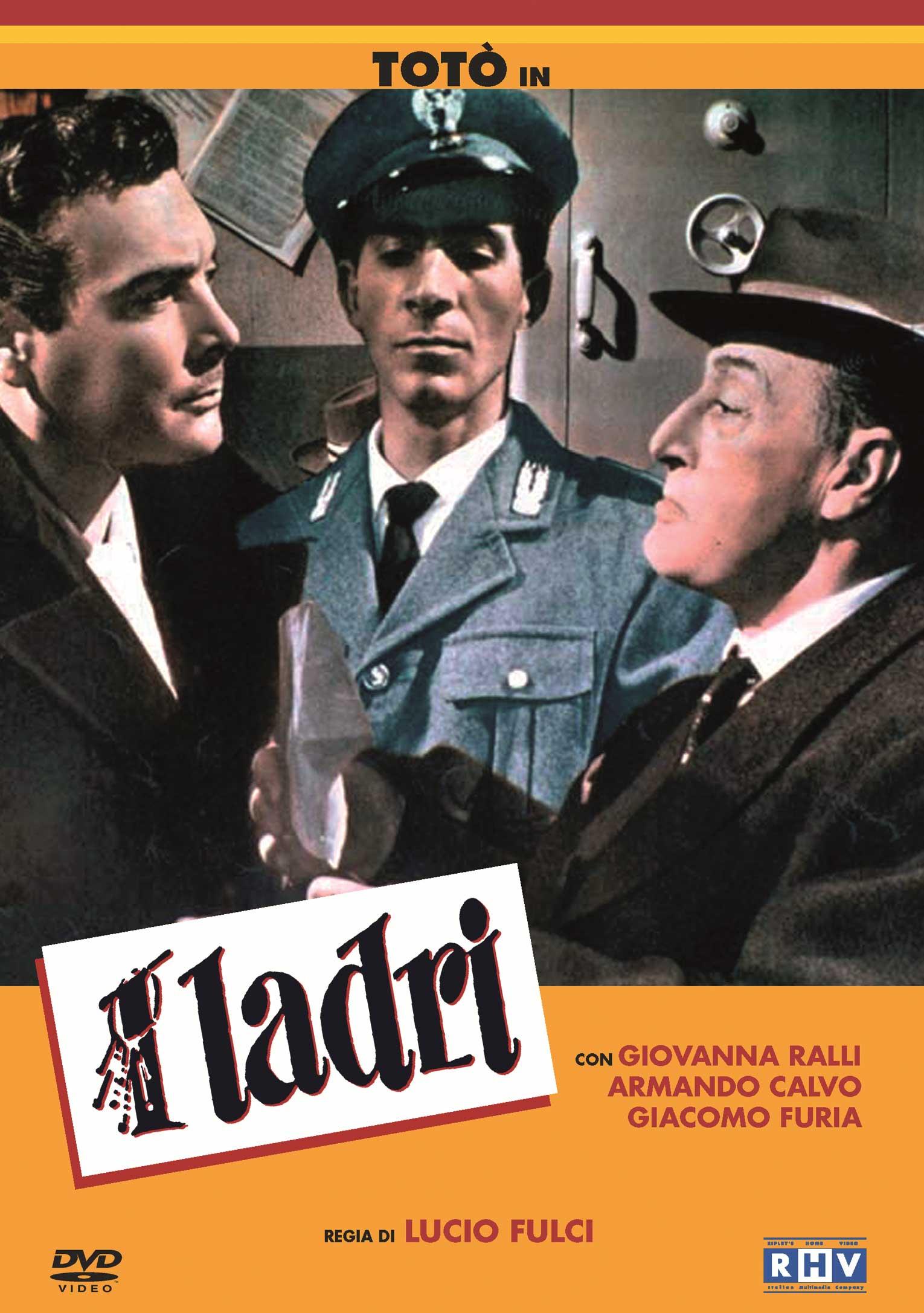 TOTO' - I LADRI (DVD)