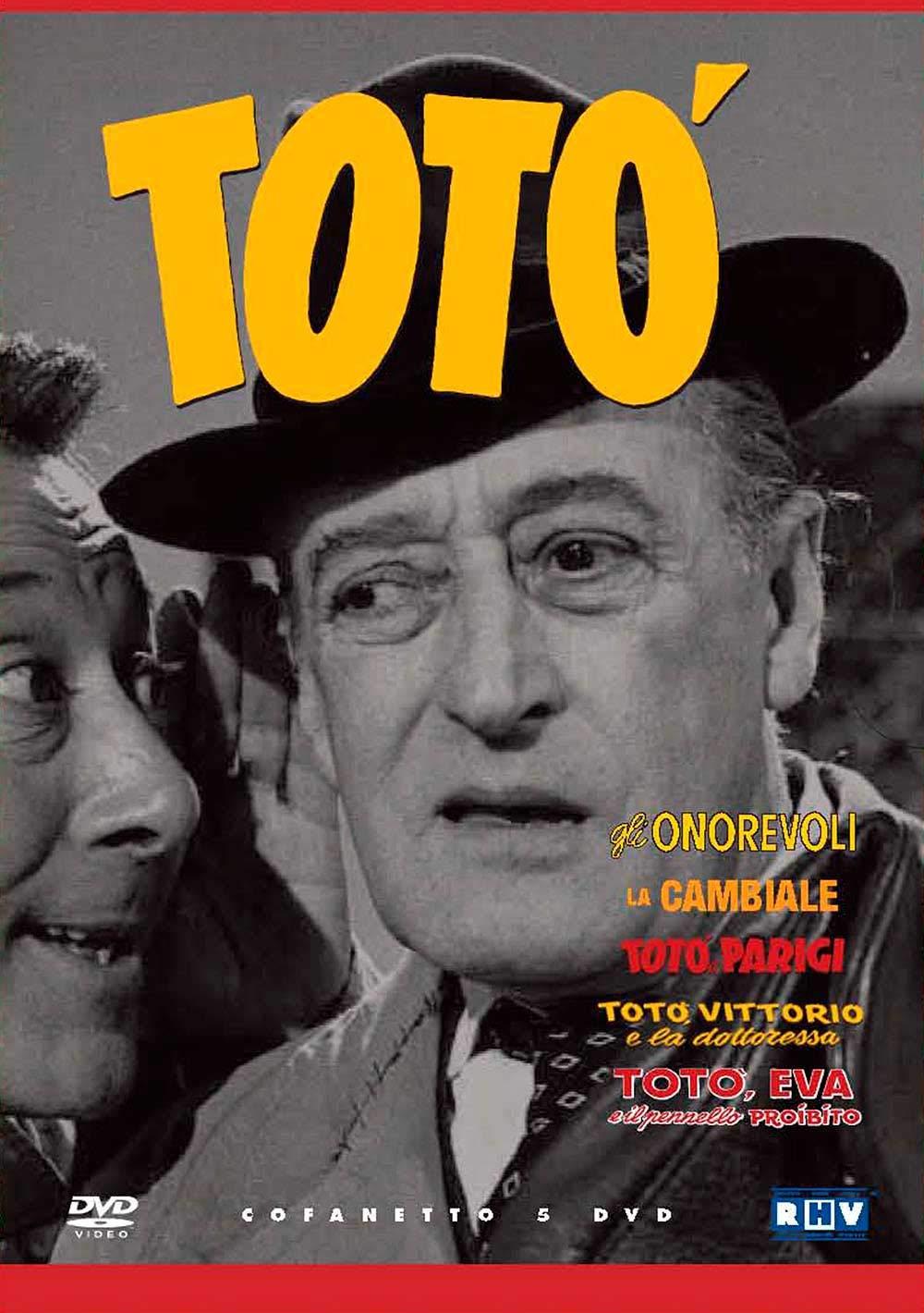 COF.TOTO' COFANETTO (5 DVD) (DVD)
