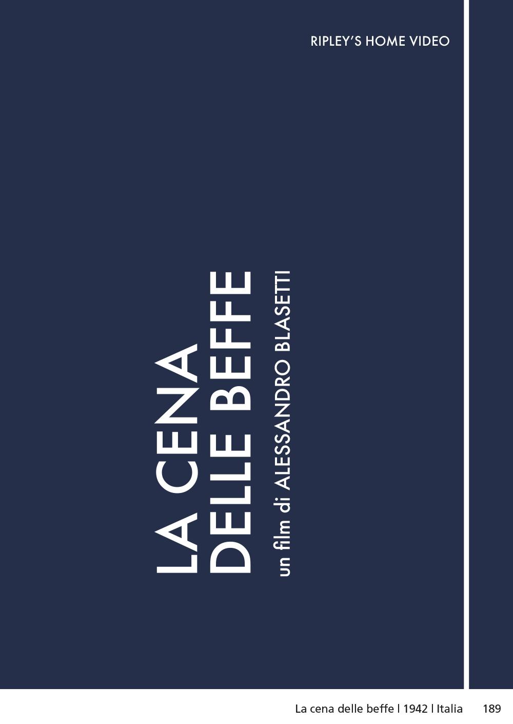 LA CENA DELLE BEFFE (DVD)