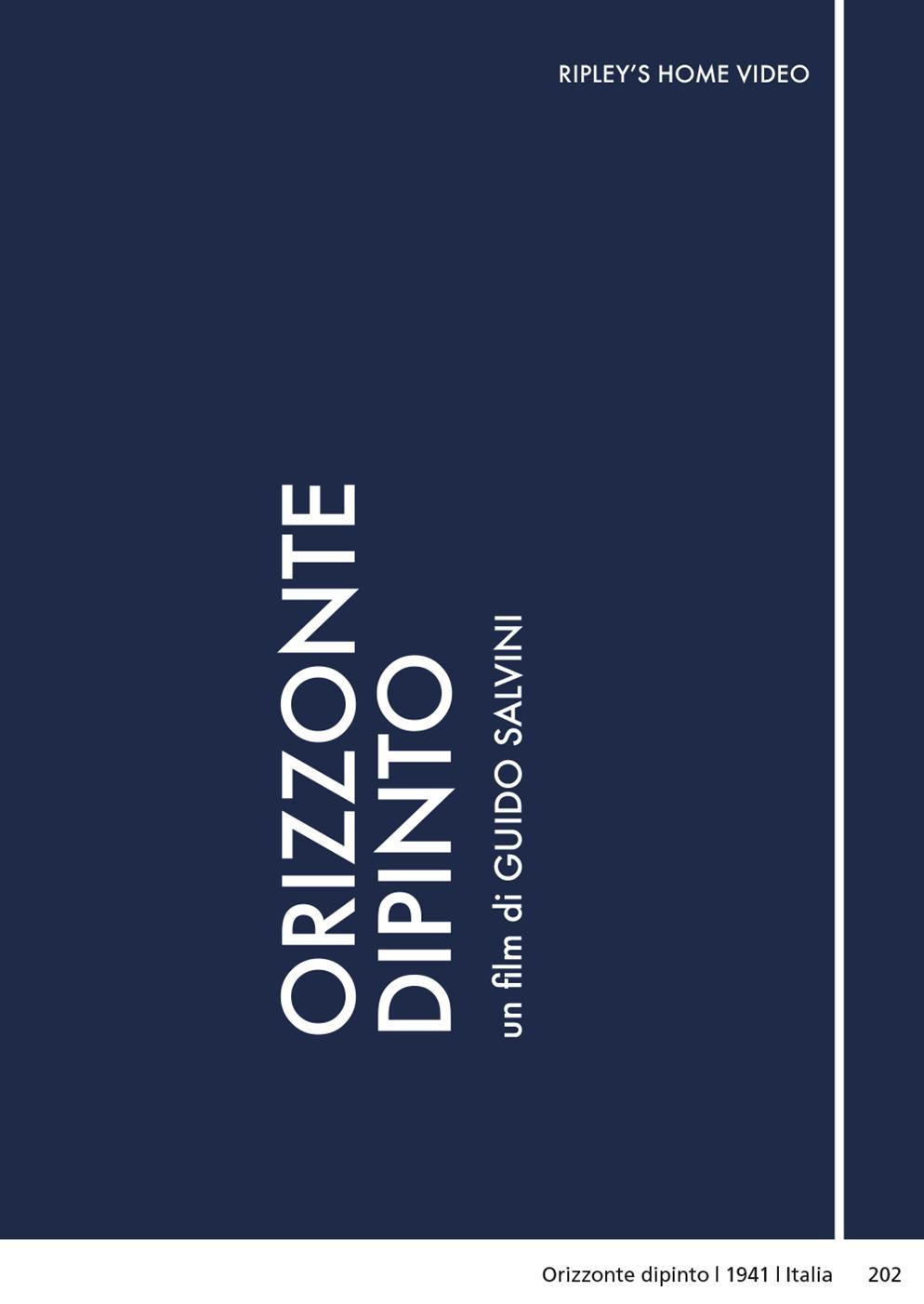 ORIZZONTE DIPINTO (DVD)