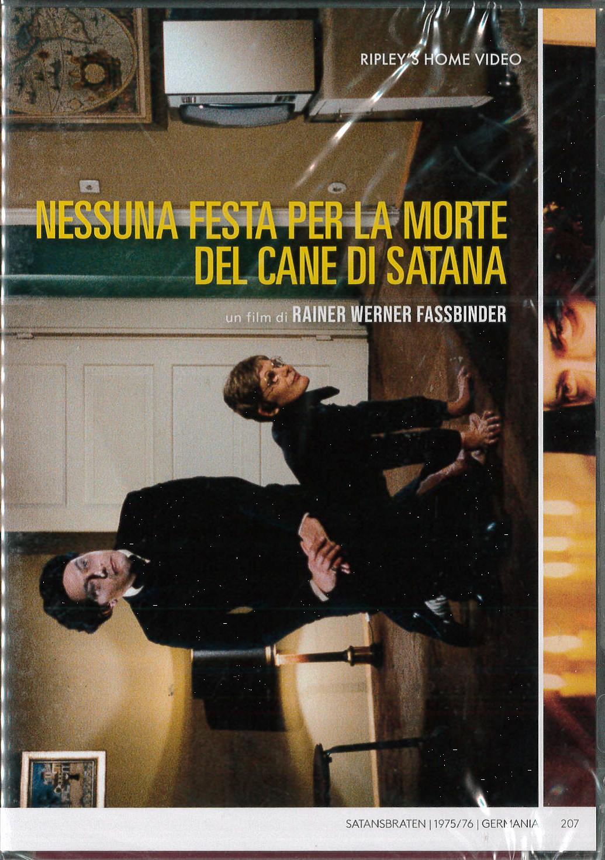 NESSUNA FESTA PER LA MORTE DEL CANE DI SATANA (DVD)