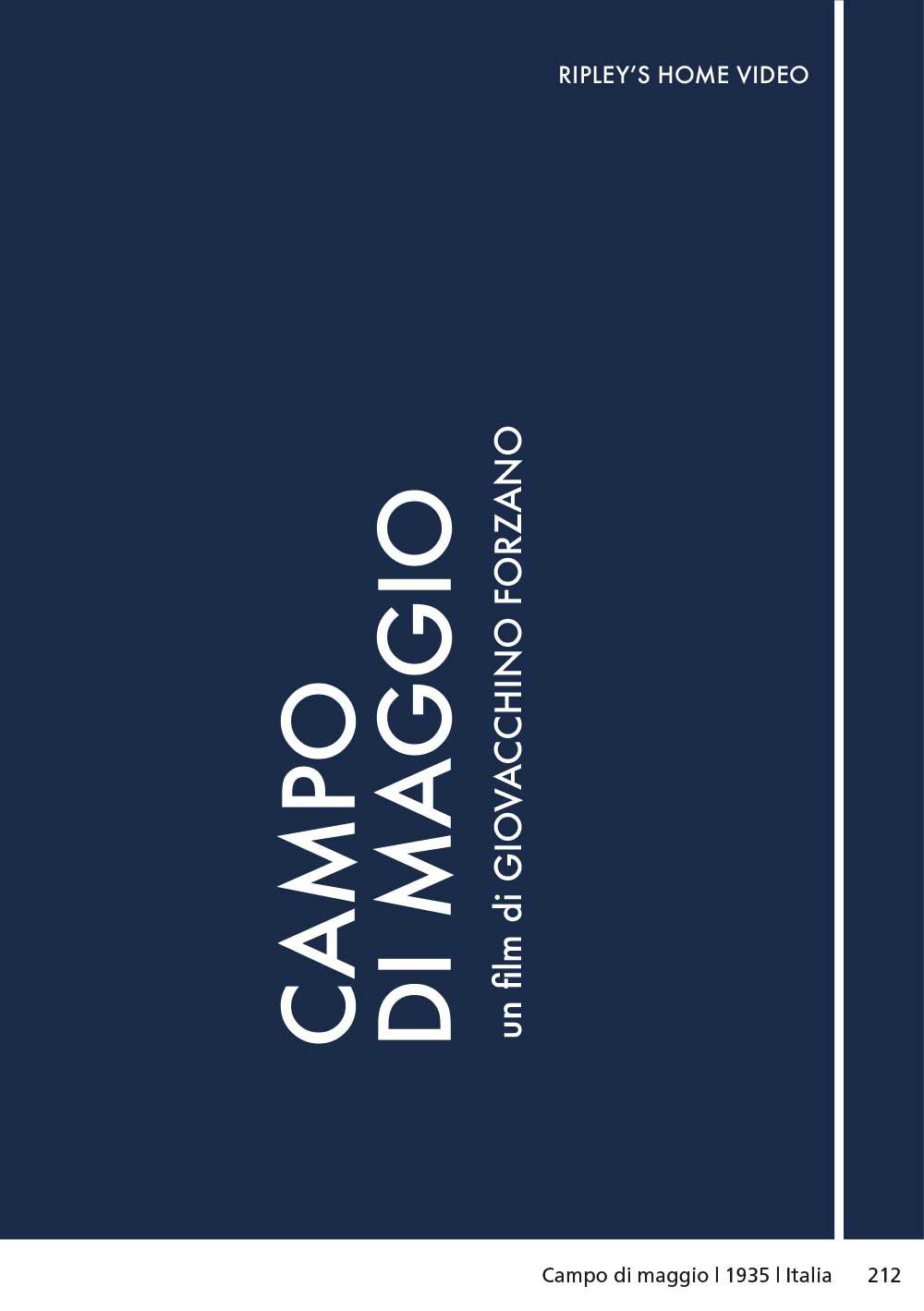 CAMPO DI MAGGIO (DVD)