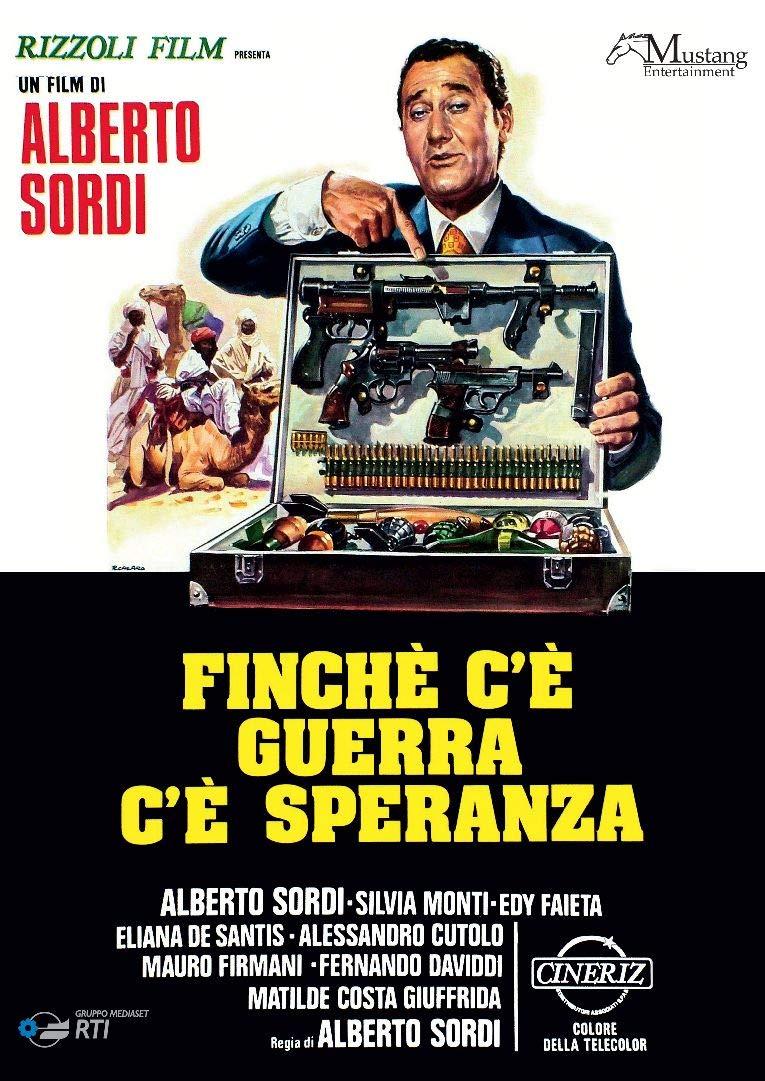 SORDI - FINCHE' C'E' GUERRA C'E' SPERANZA (DVD)