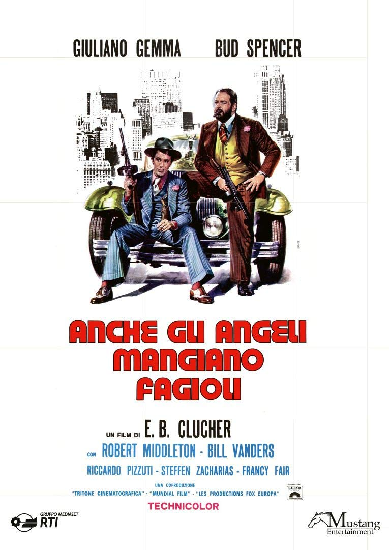 ANCHE GLI ANGELI MANGIANO FAGIOLI (DVD)