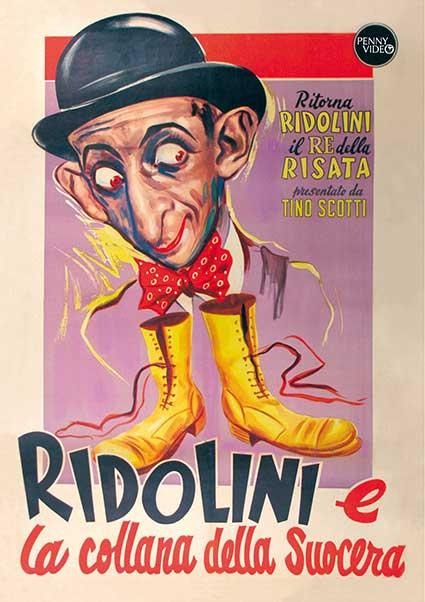 RIDOLINI E LA COLLANA DELLA SUOCERA (DVD)