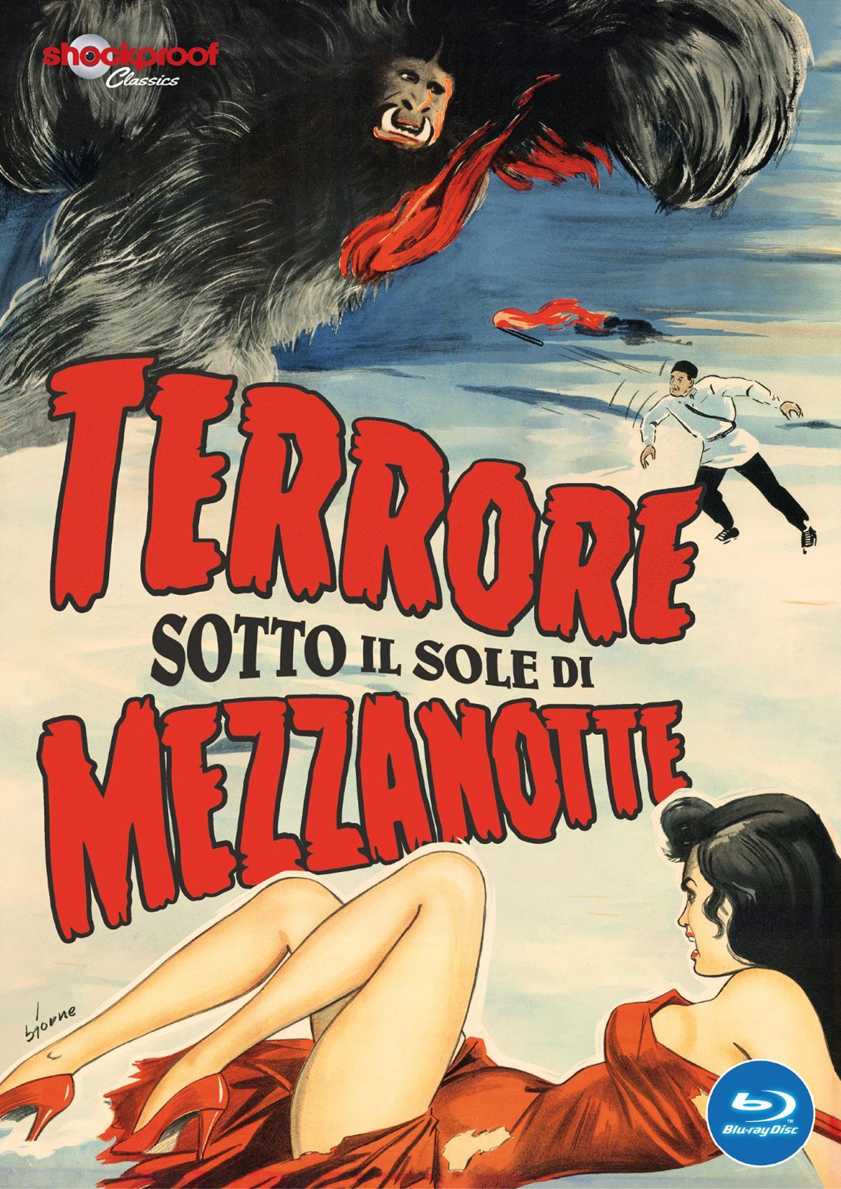 TERRORE SOTTO IL SOLE DI MEZZANOTTE BLU RAY - AUDIO INGLESE