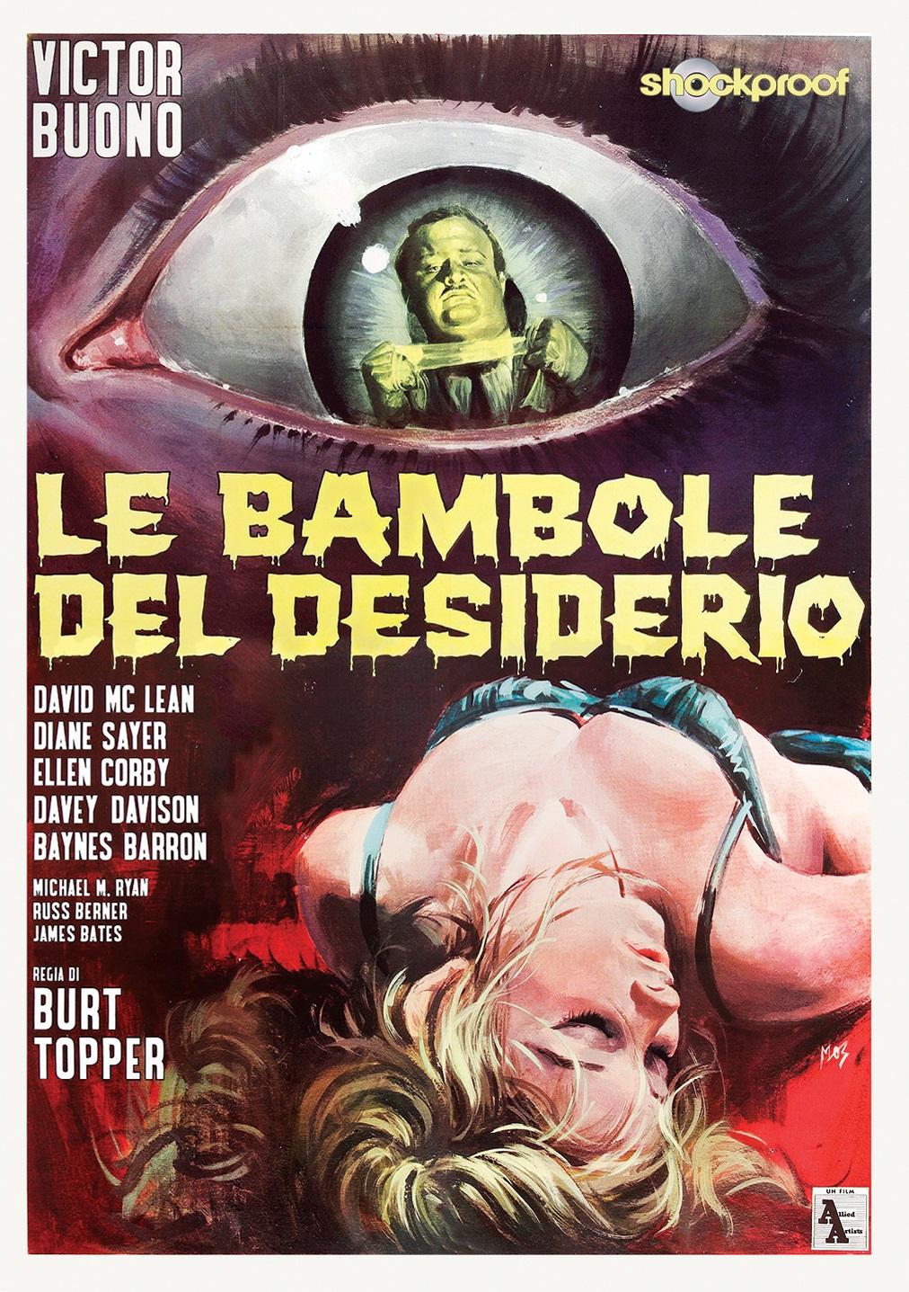 LE BAMBOLE DEL DESIDERIO (SHOCKPROOF) (DVD)