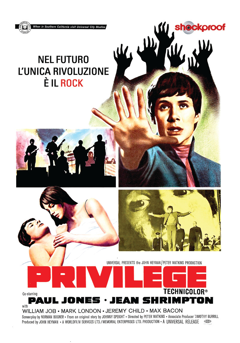 PRIVILEGE (SHOCKPROOF) (DVD)