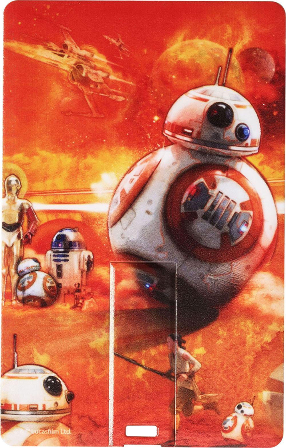 STAR WARS - THE FORCE AWAKENS - BB-8 - CARD USB 8GB