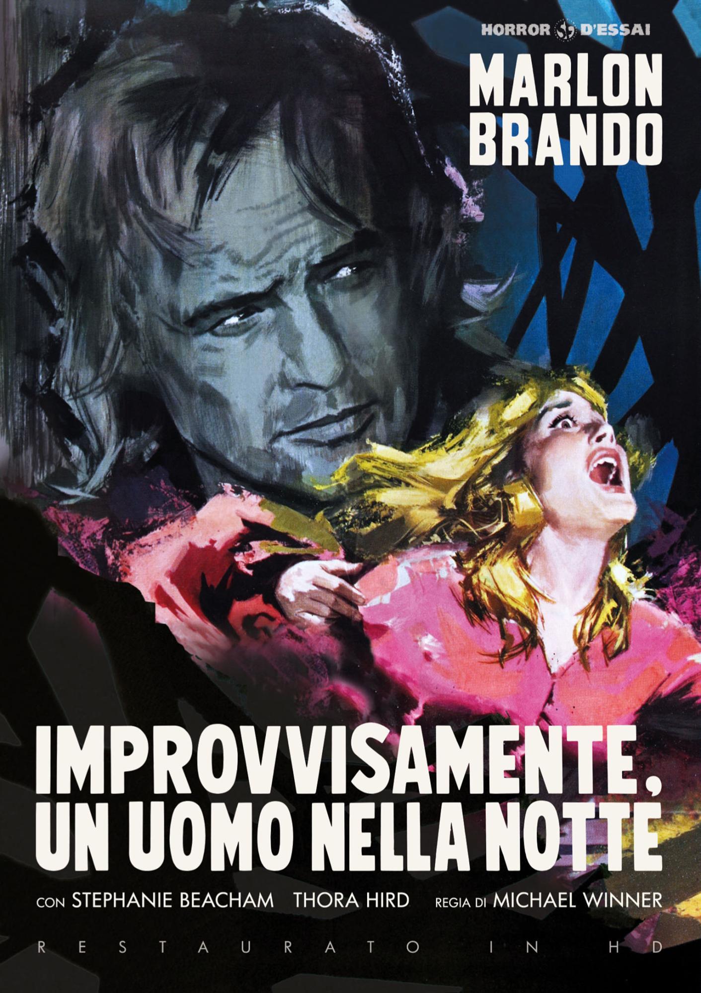 IMPROVVISAMENTE UN UOMO NELLA NOTTE (DVD)