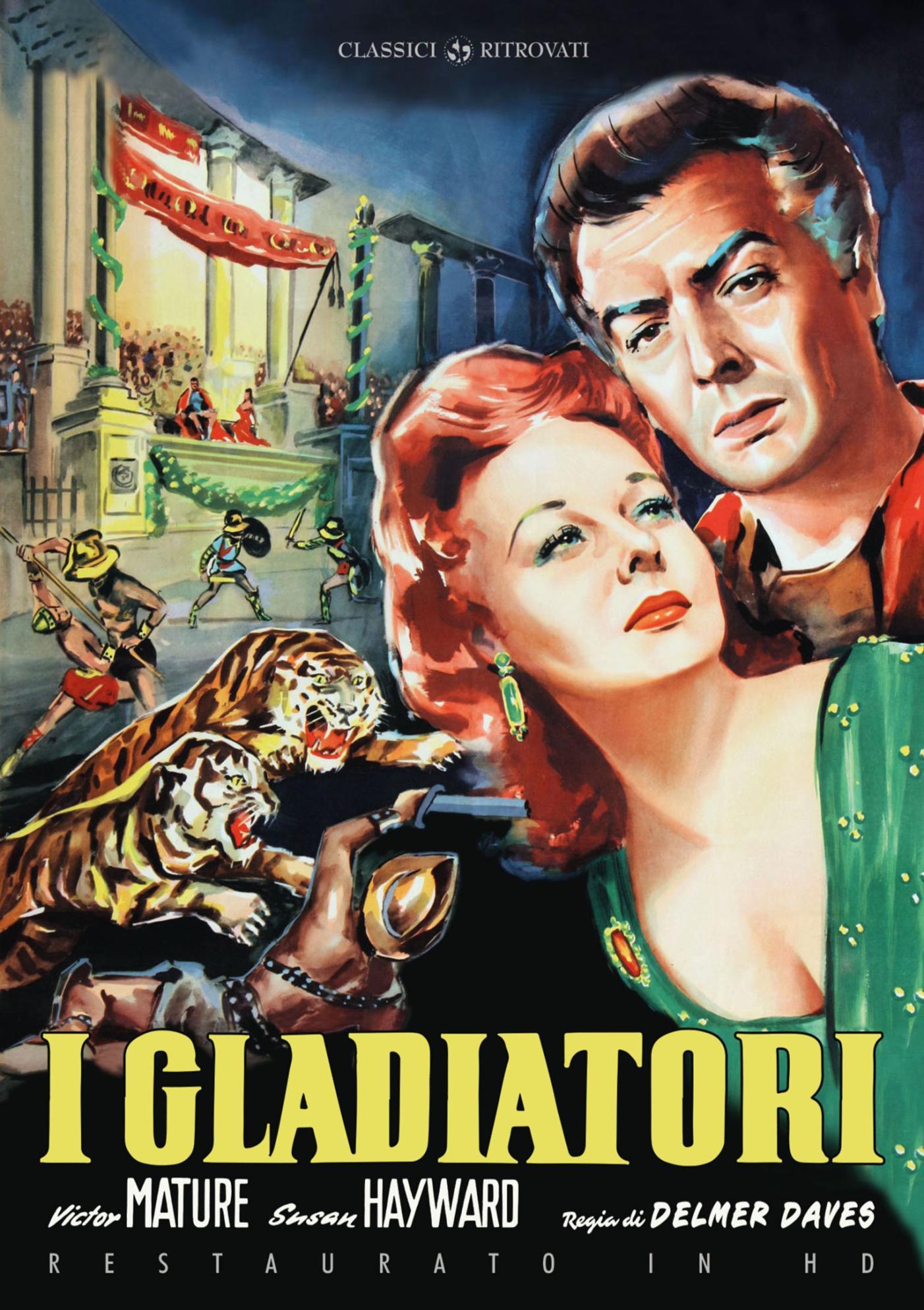 I GLADIATORI (RESTAURATO IN HD) (DVD)