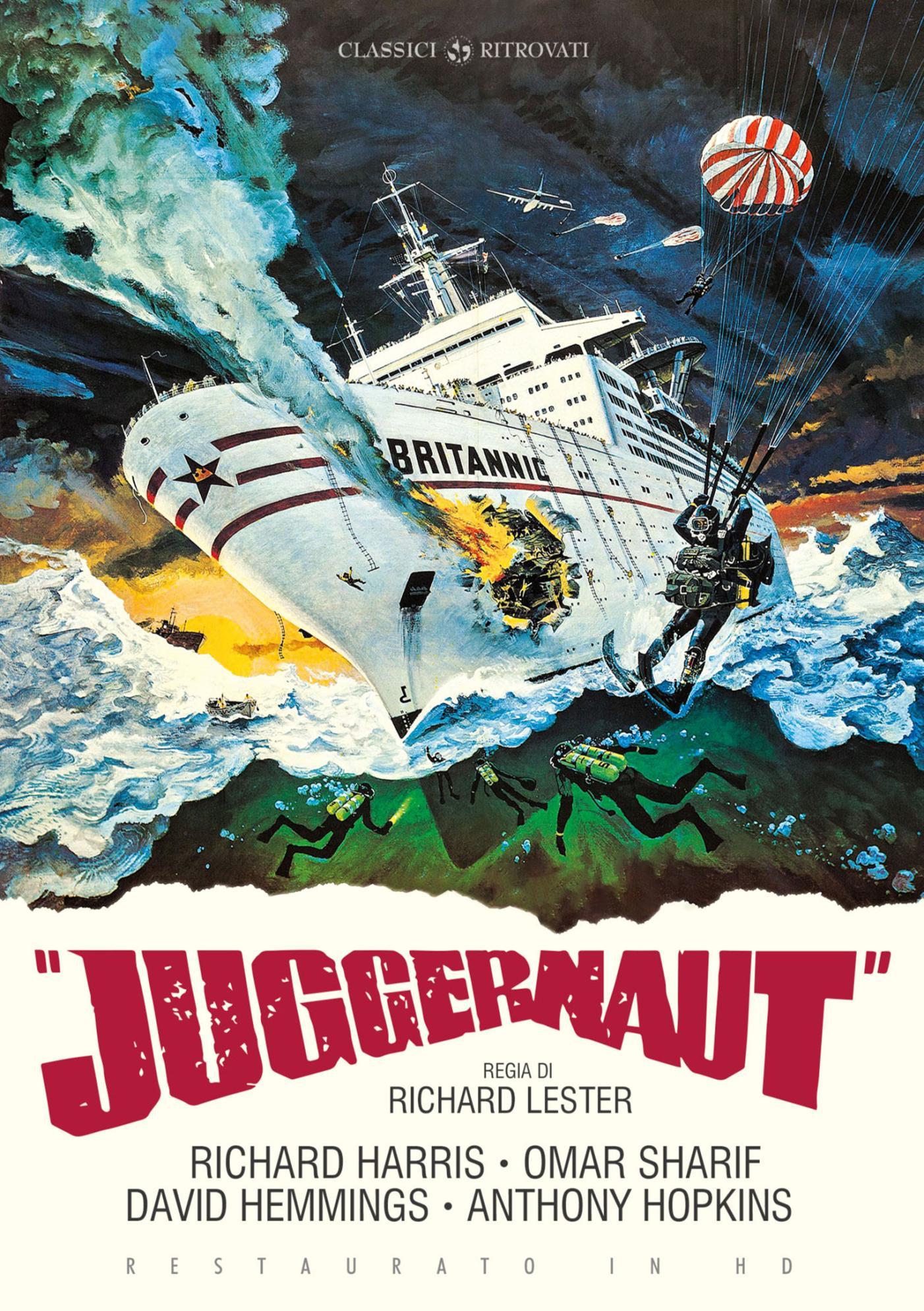 JUGGERNAUT (RESTAURATO IN HD) (DVD)
