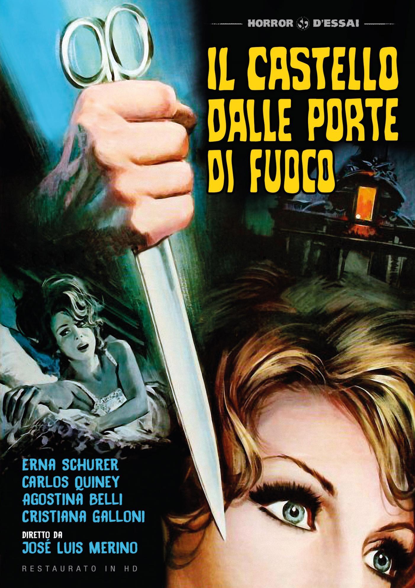 IL CASTELLO DALLE PORTE DI FUOCO (RESTAURATO IN HD) (DVD)