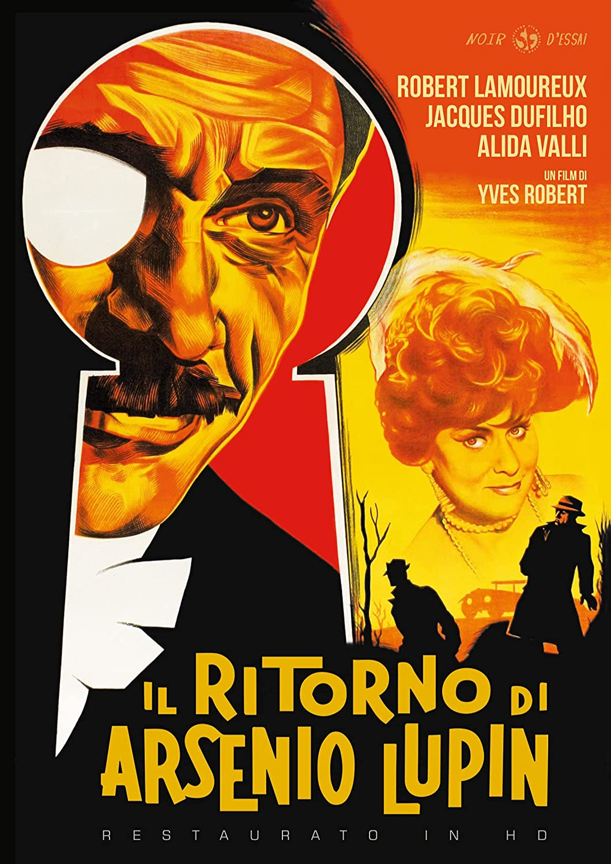 IL RITORNO DI ARSENIO LUPIN (RESTAURATO IN HD) (DVD)