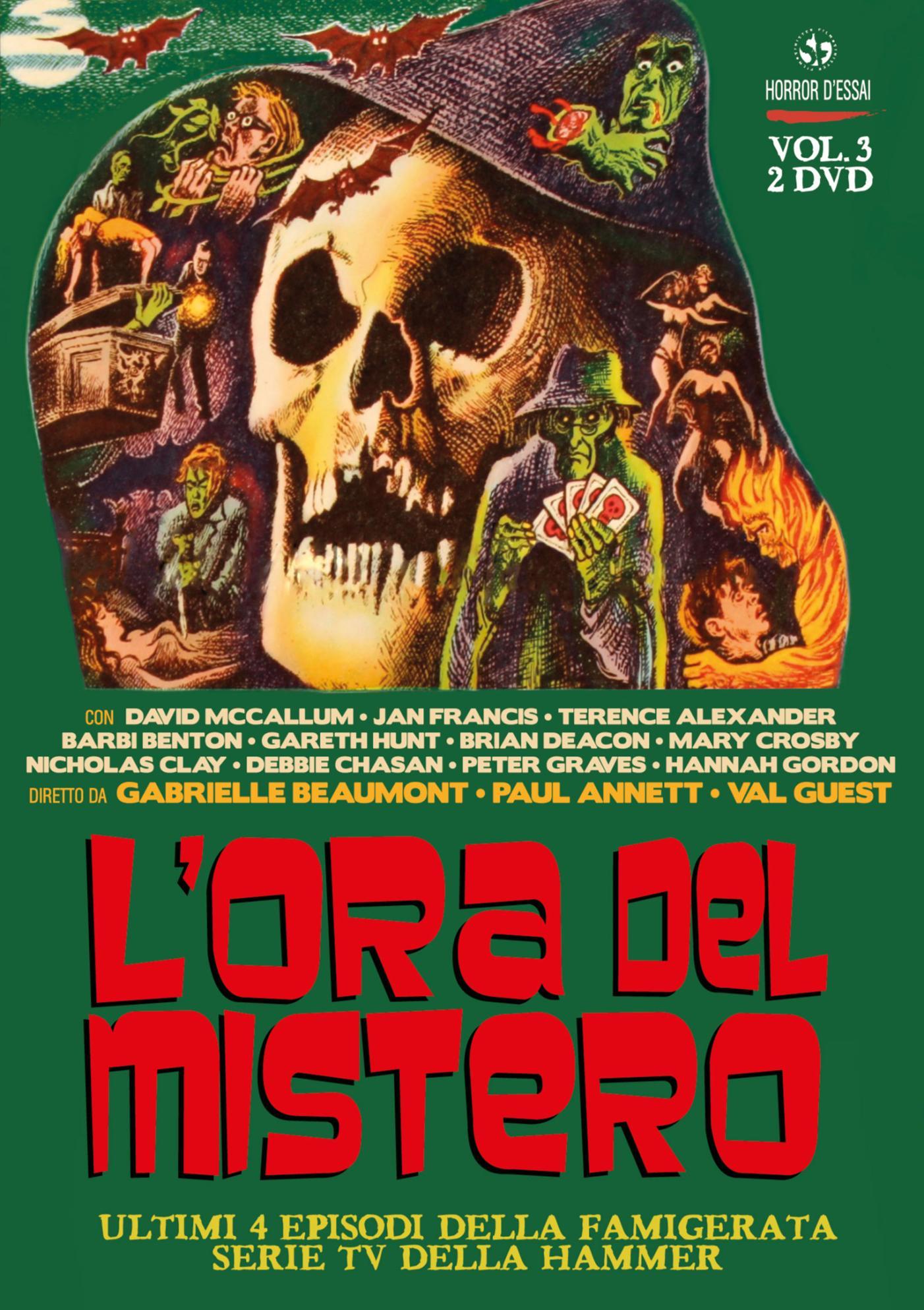 COF.L'ORA DEL MISTERO #03 (2 DVD) (DVD)
