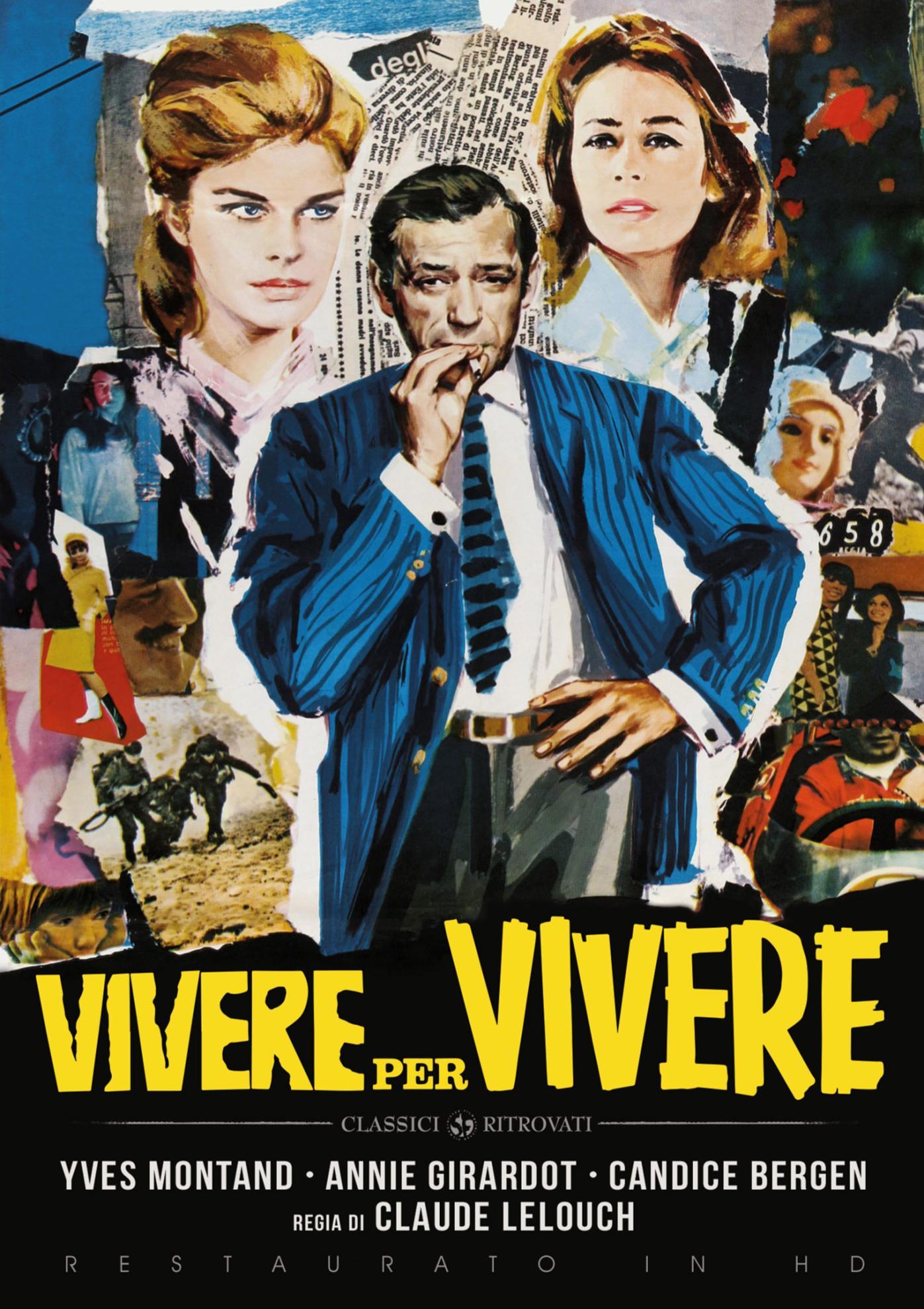 VIVERE PER VIVERE (RESTAURATO IN HD) (DVD)