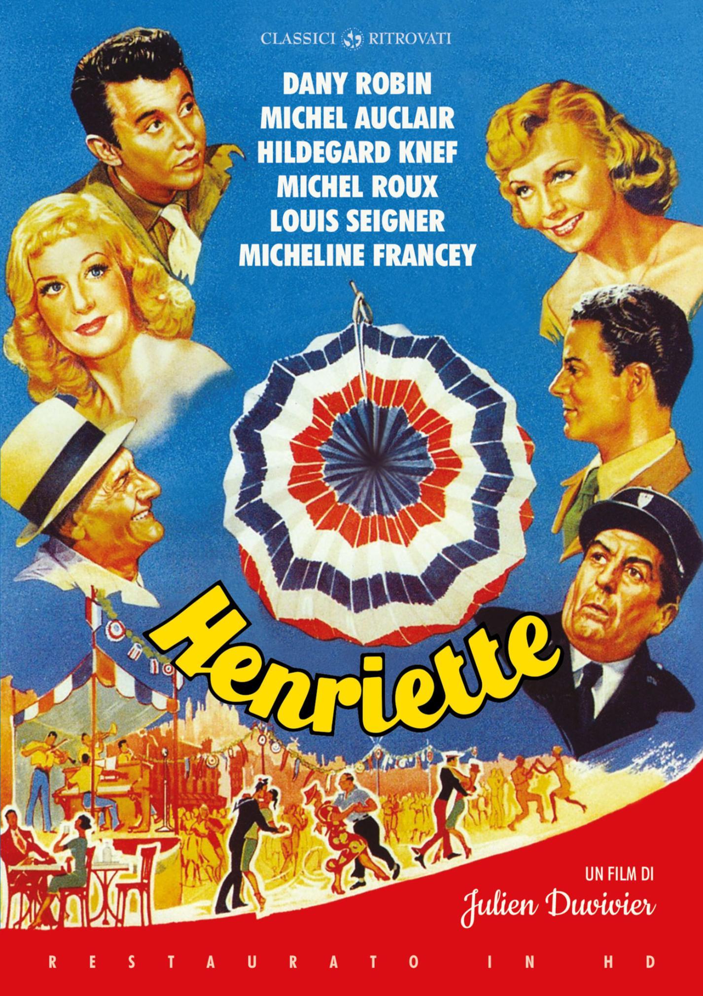 HENRIETTE (RESTAURATO IN HD) (DVD)