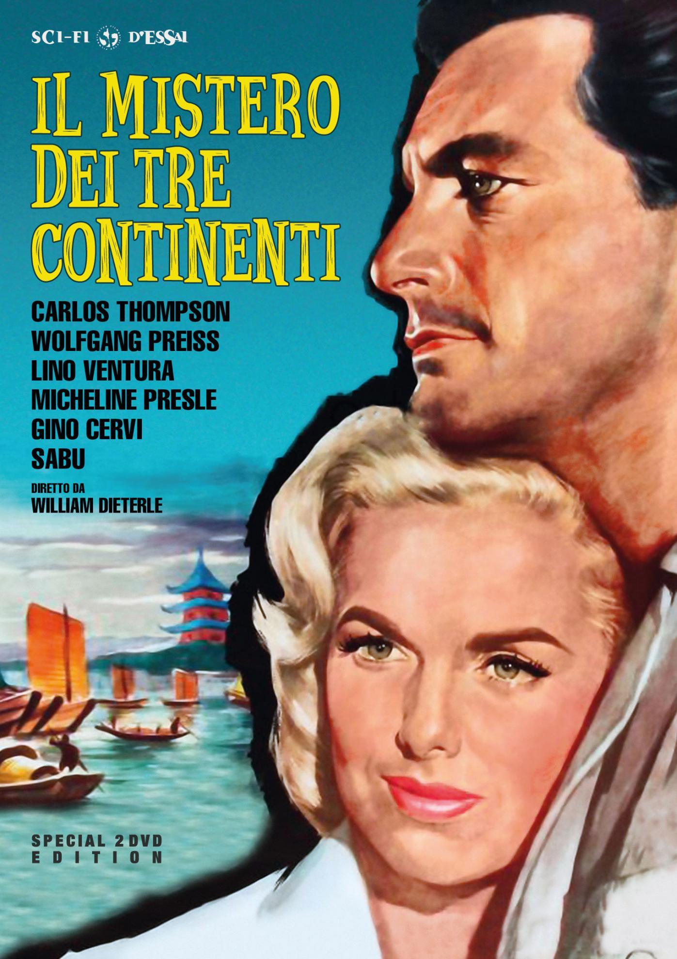 IL MISTERO DEI TRE CONTINENTI (SPECIAL EDITION) (2 DVD) (DVD)