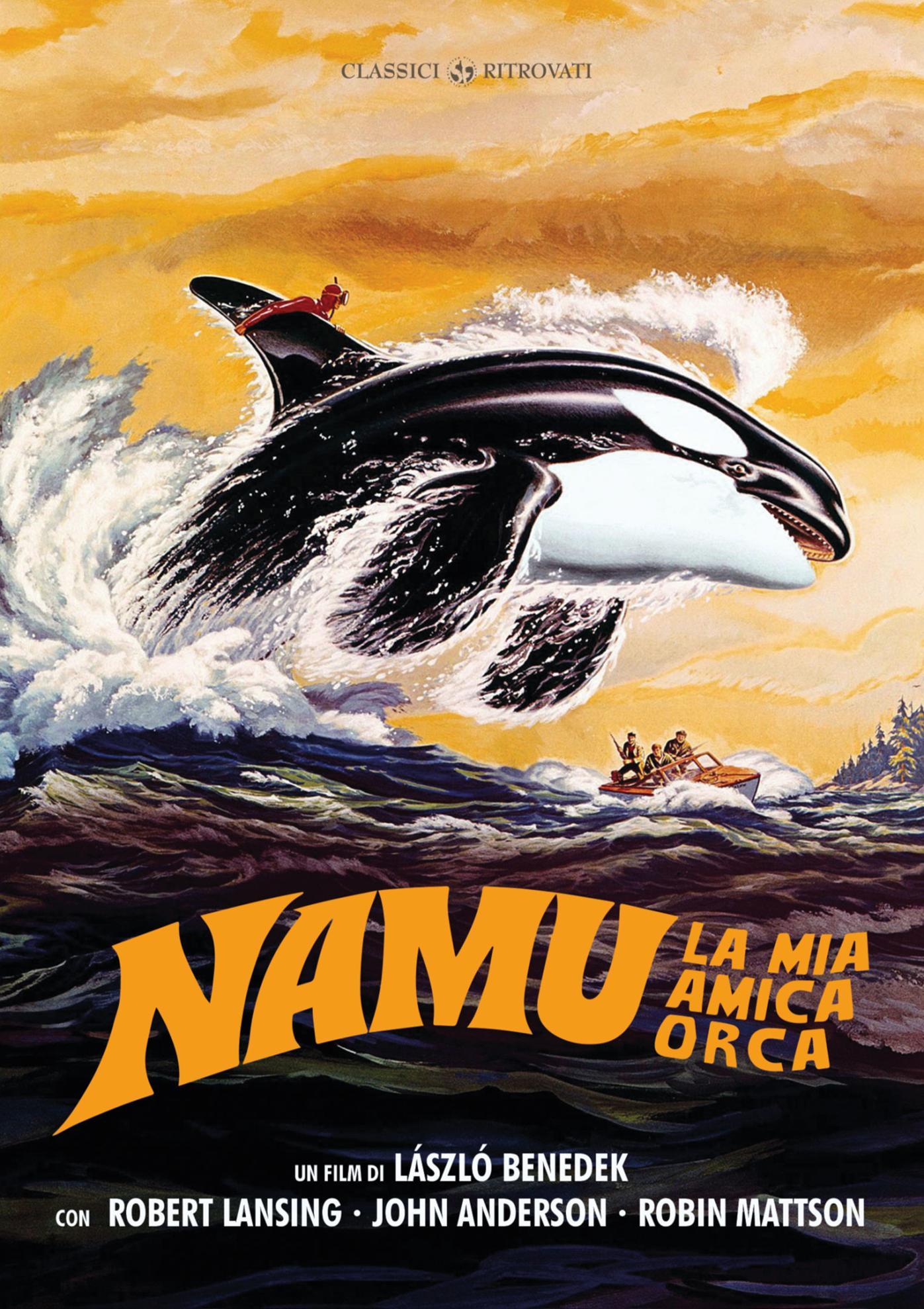 NAMU LA MIA AMICA ORCA (DVD)